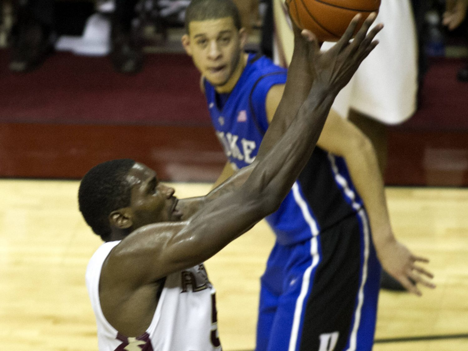 Bernard James (5), FSU vs Duke,  02/23/2012