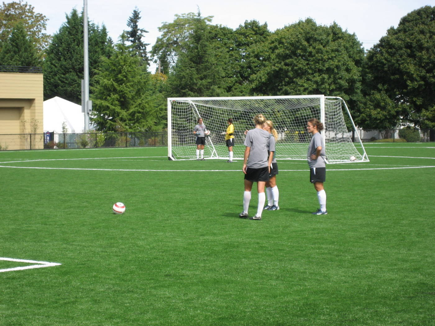 Practice Day in Portland