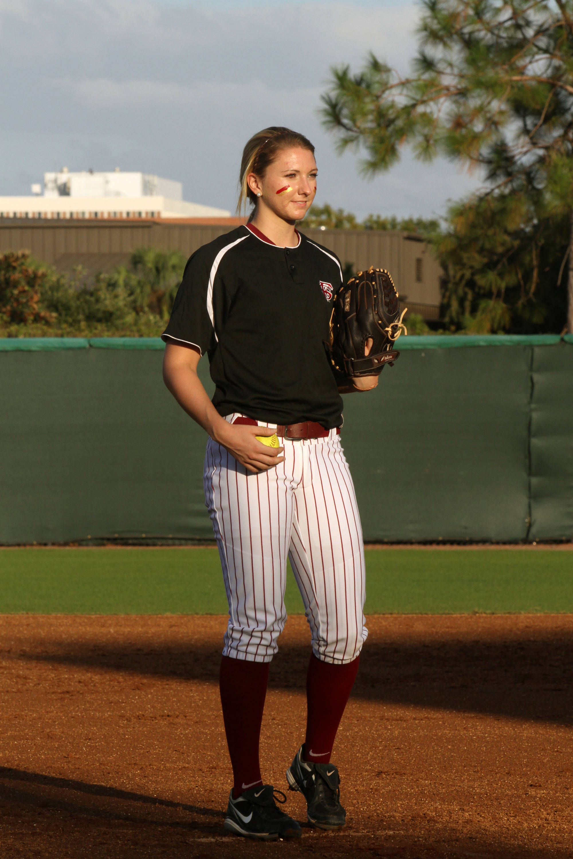 2012 FSU Softball Team Lacey Waldrop (13)