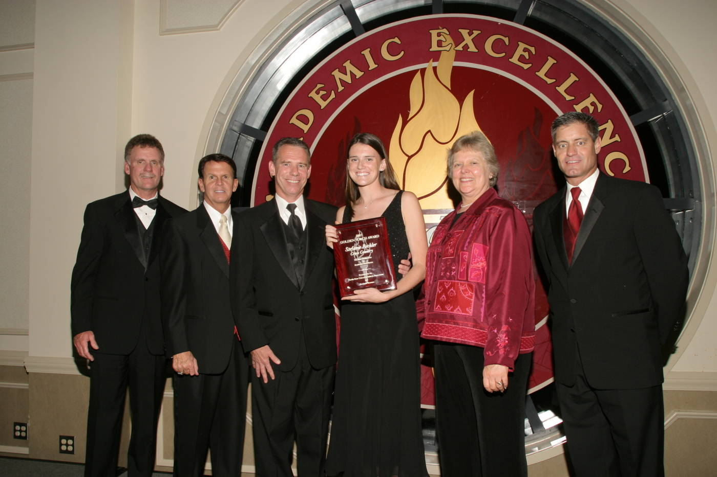 Women's Cross Country's 2006-07 Golden Torch Award winner, Stefanie Bechler.