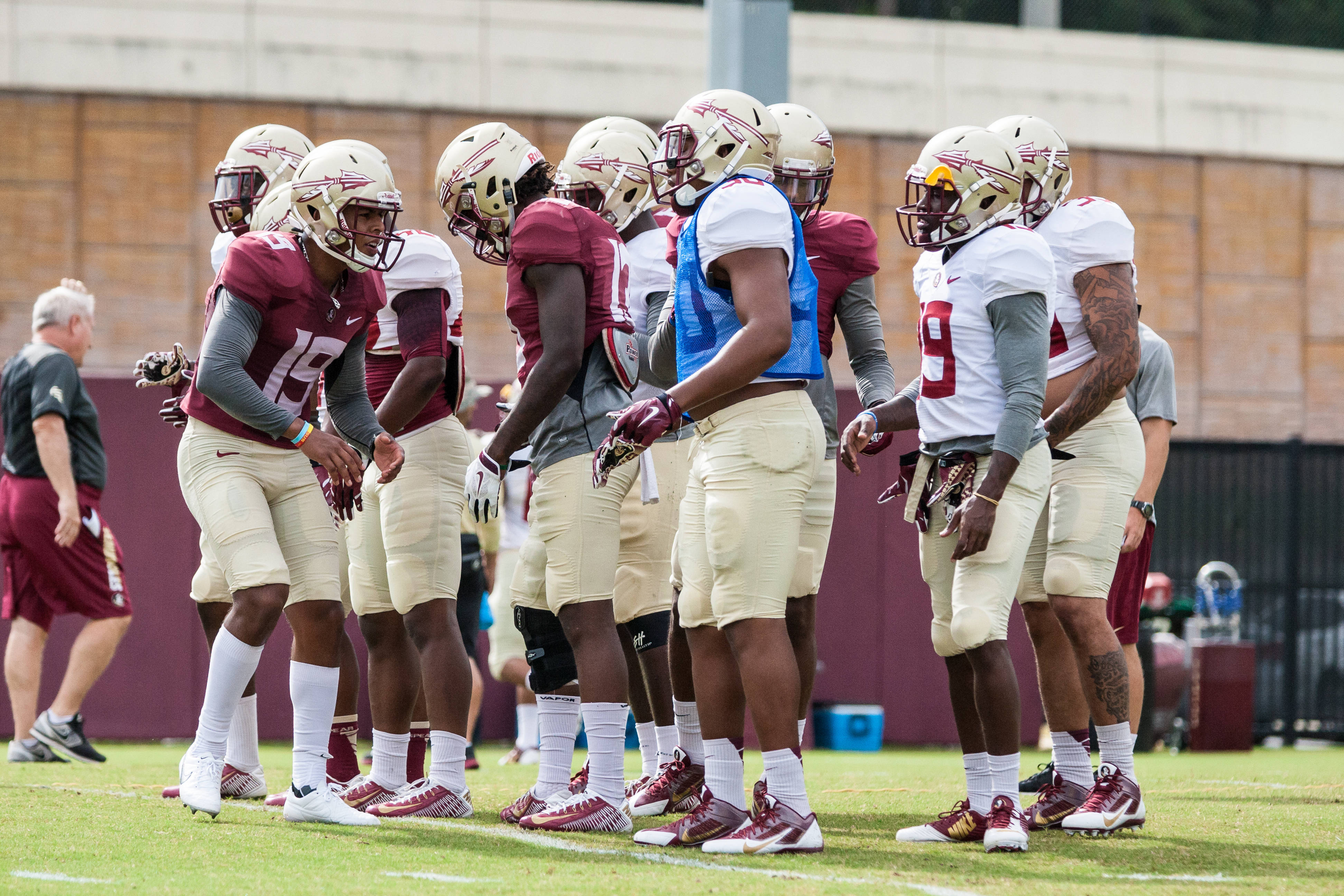 Florida State Football Practice – August 19, 2015