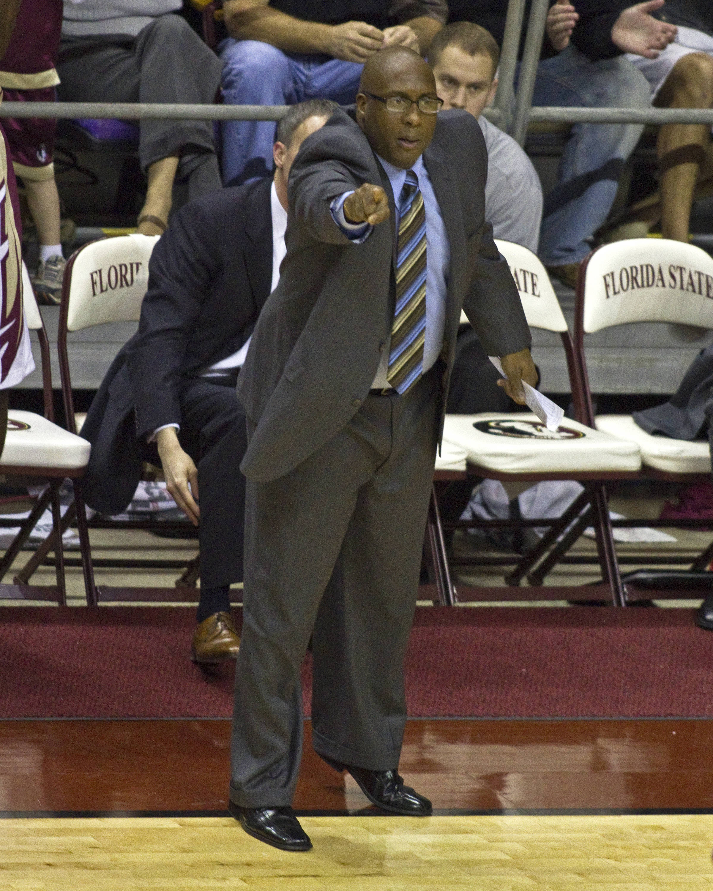 FSU vs Virginia- 02//12/11 - Coach Corey Williams