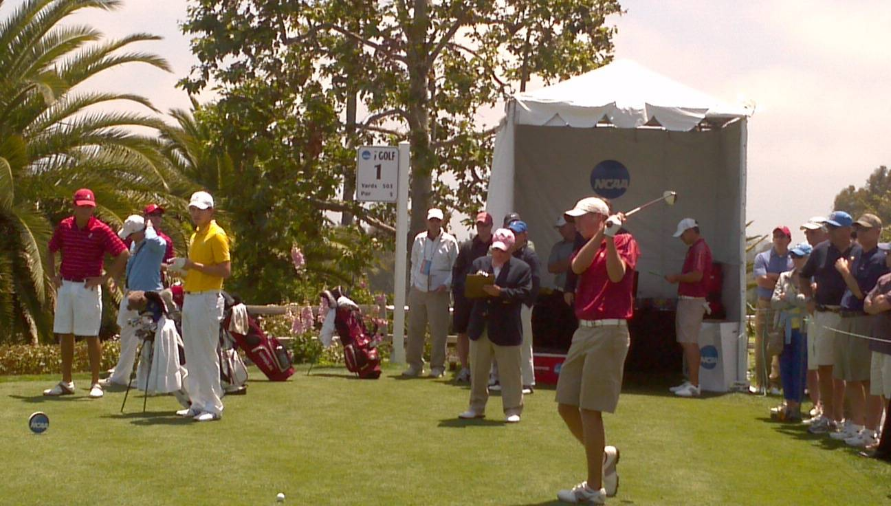 2012 NCAA Men's Golf Championship -- Daniel Berger