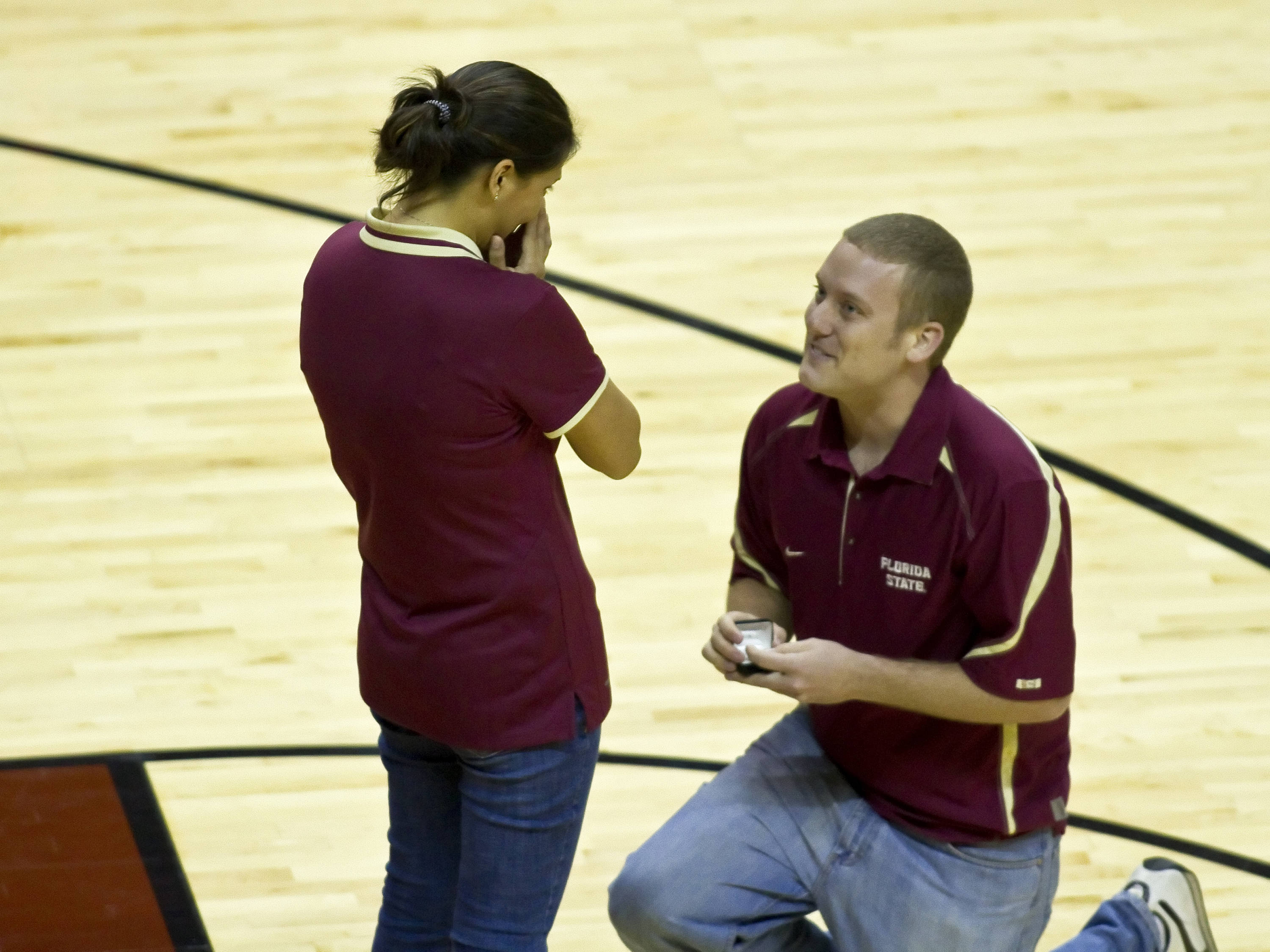 Marry me !!!!!!! , FSU vs So. Alabama, 11/20/2011