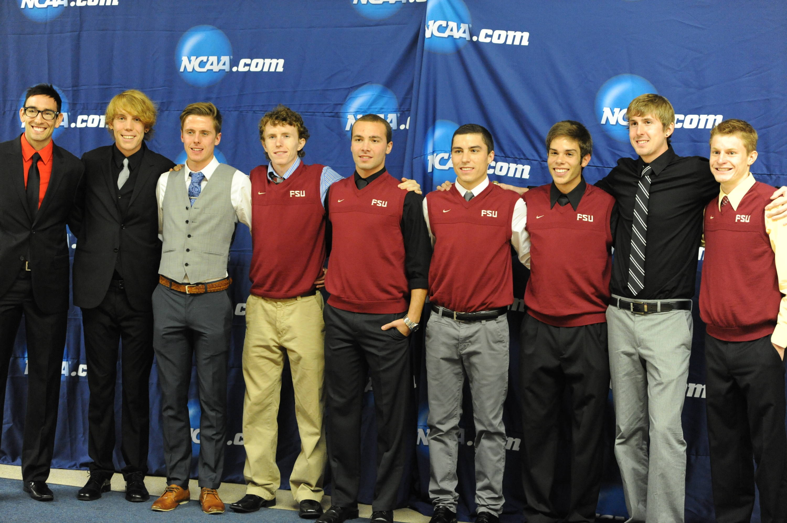 The FSU men's cross country team was honored at the 2011 NCAA Division I Championship banquet Saturday.