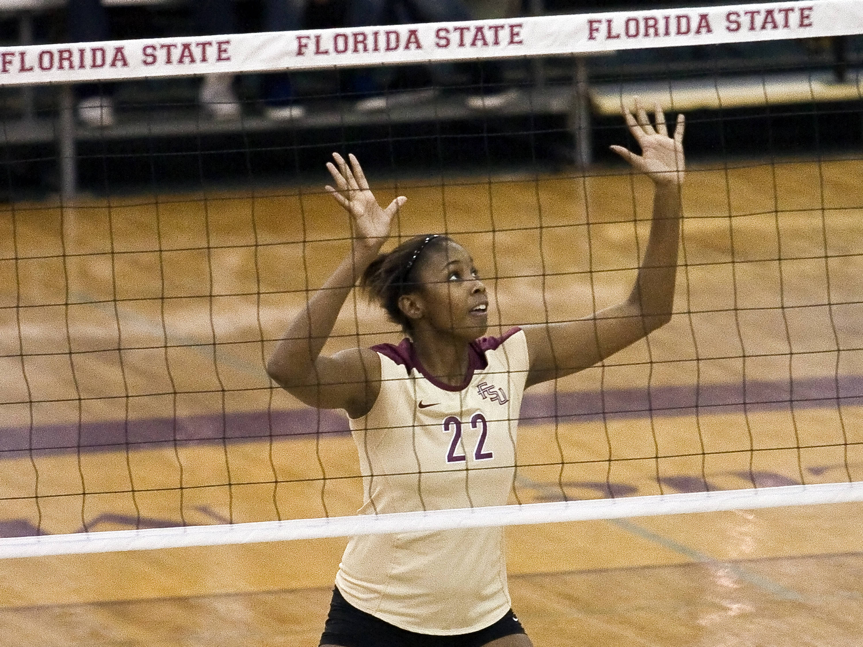 Sareea Freeman (22), FSU vs Cincinnati, 12/03/2011