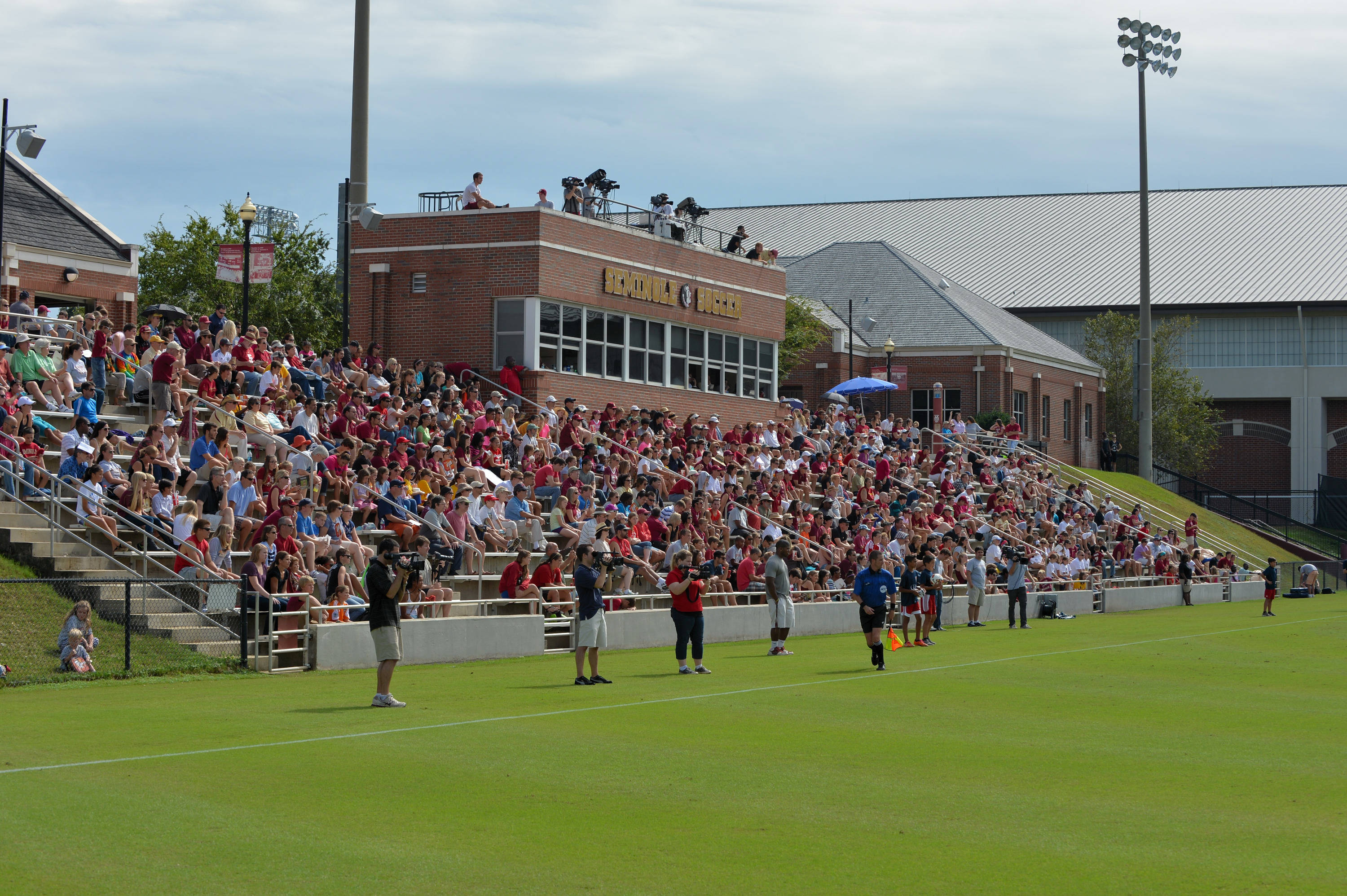 The Seminole Soccer Complex on Sunday afternoon against Maryland.
