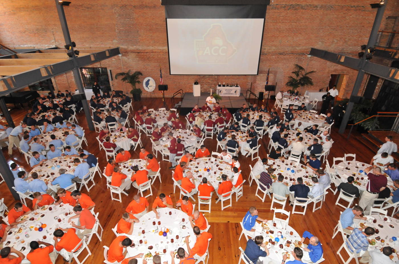 The tournament field for the 2009 ACC Baseball Championship at the lead-off banquet