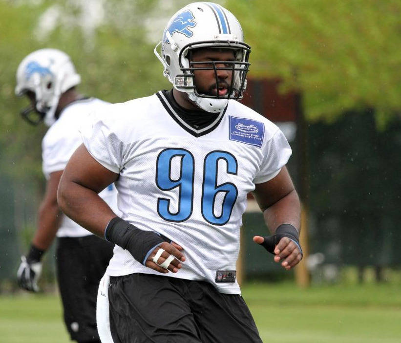 Andre Fluellen, courtesy of DetroitLions.com