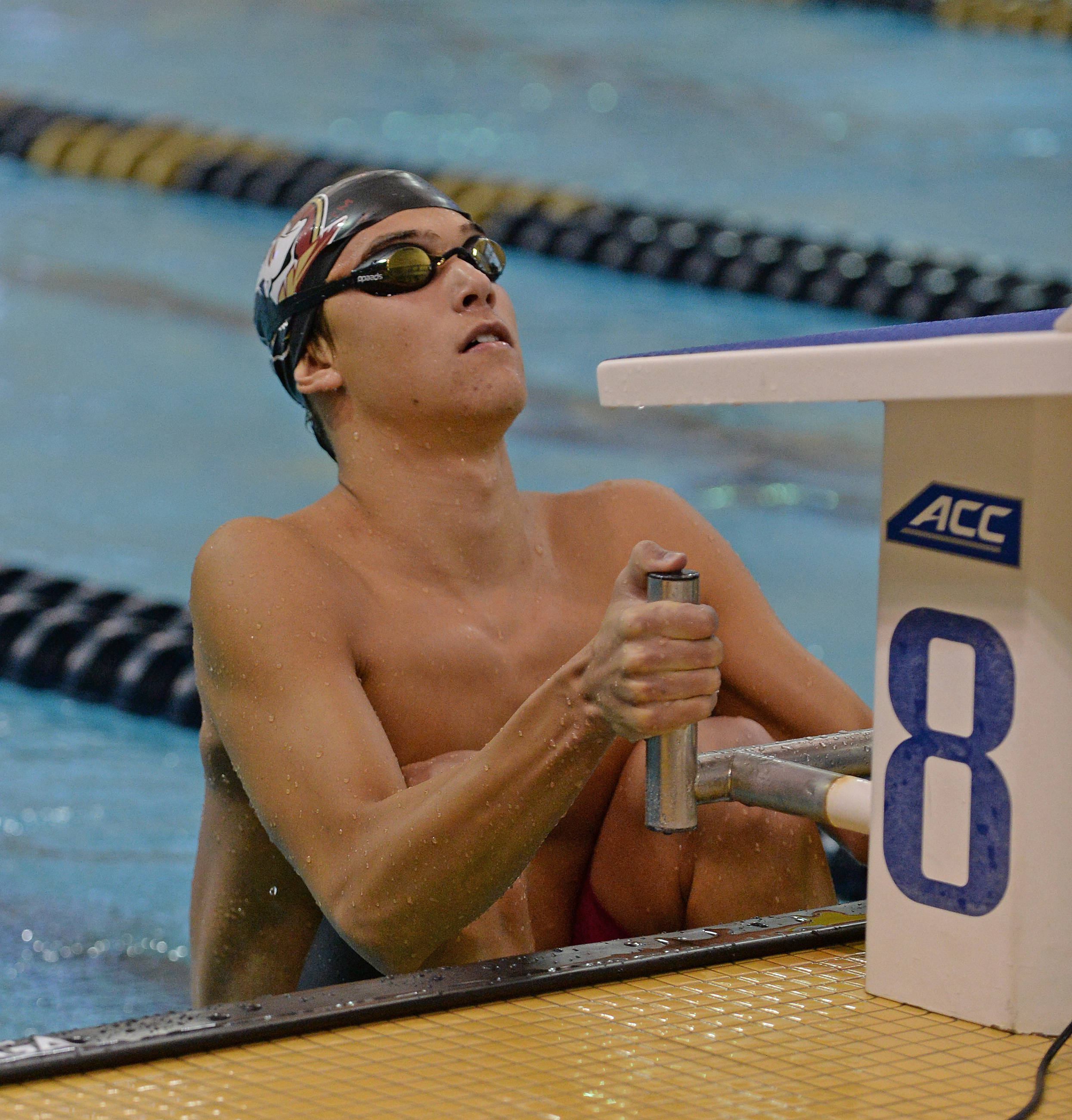Connor Kalisz starts in finals of the 200 back - Mitch White