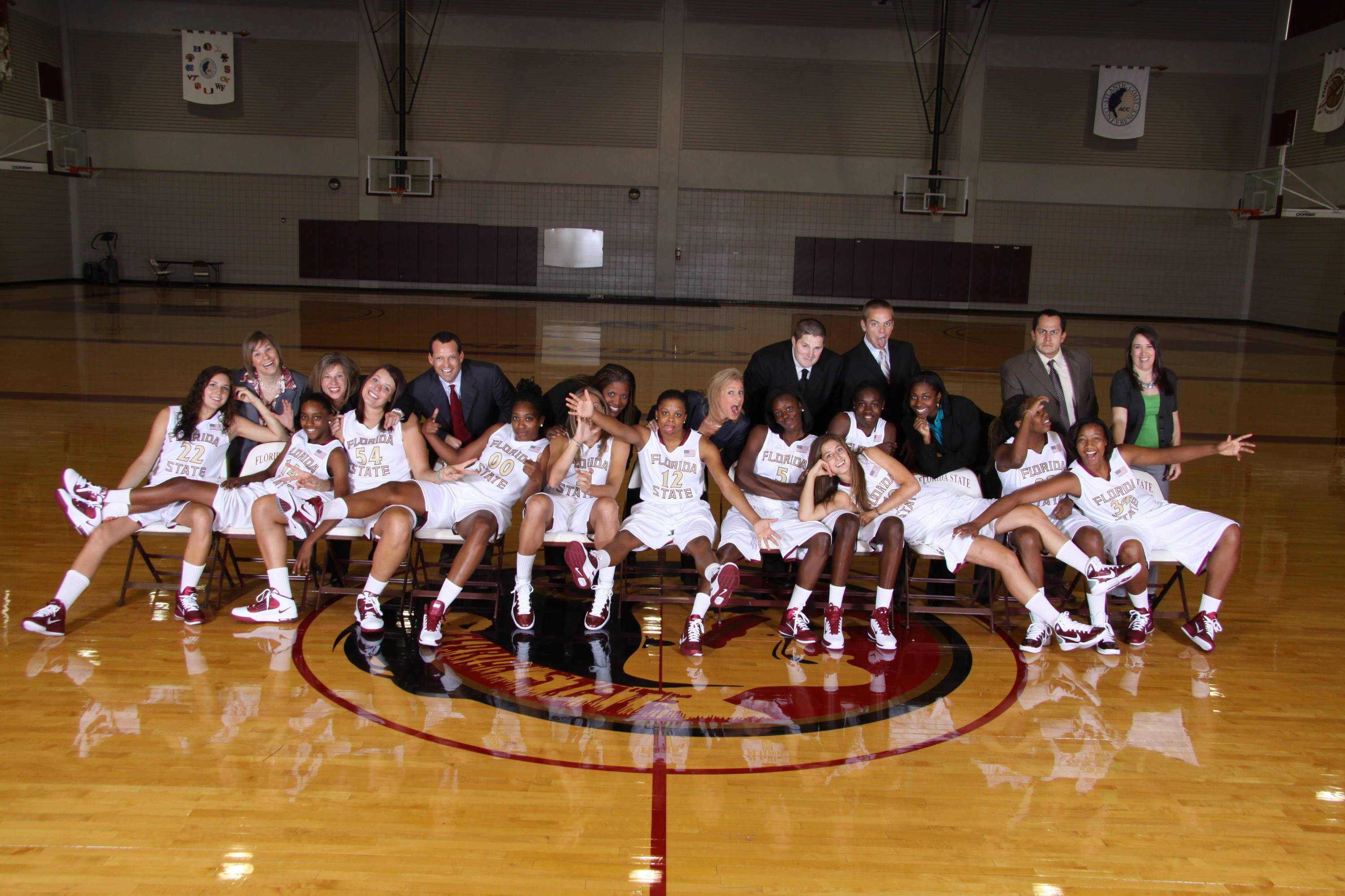 Sept. 29 ... You've seen the official 2010-11 team photo, now here's the silly one.