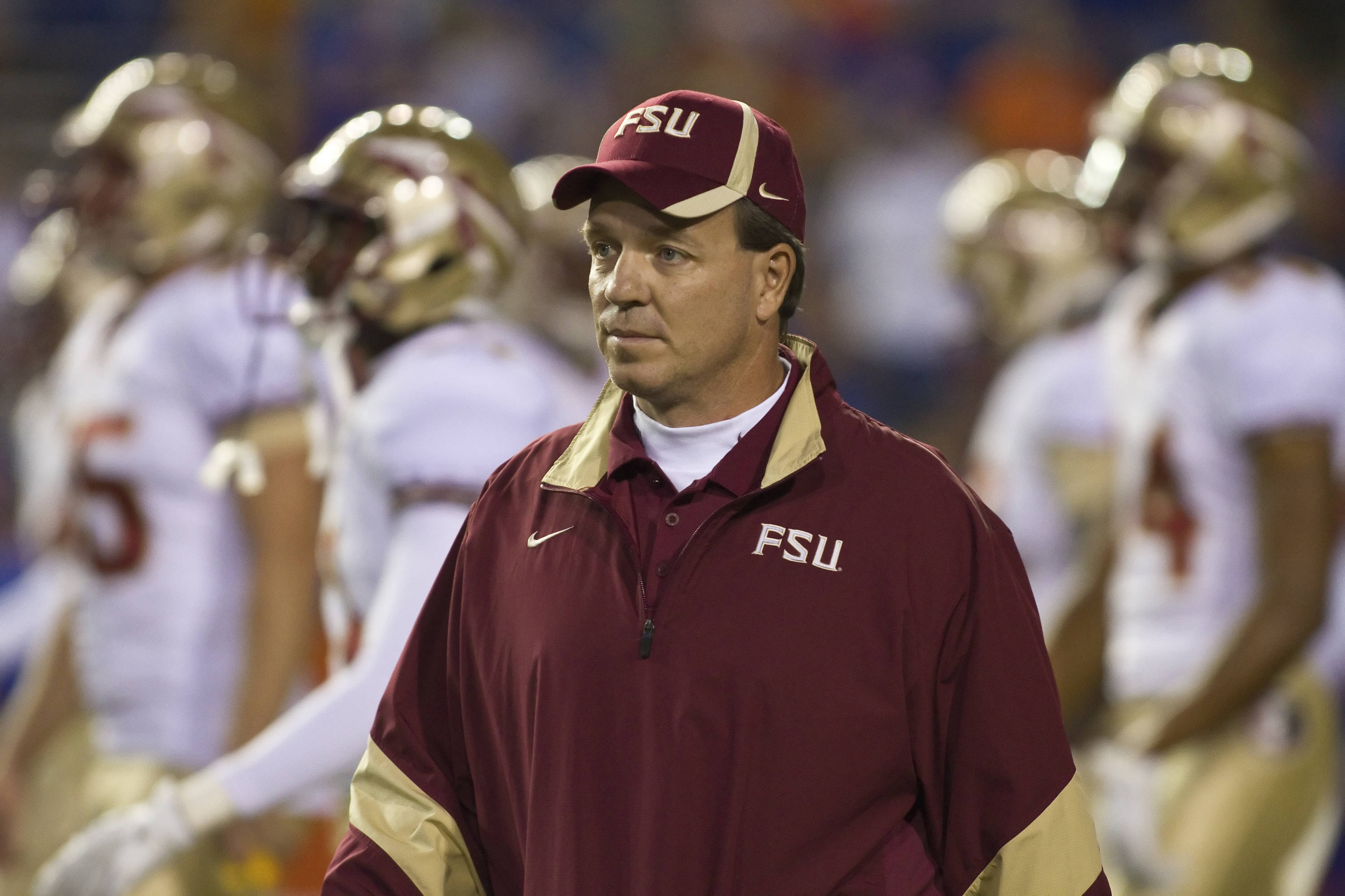 Head Coach Jimbo Fisher, FSU vs Florida, 11/26/2011