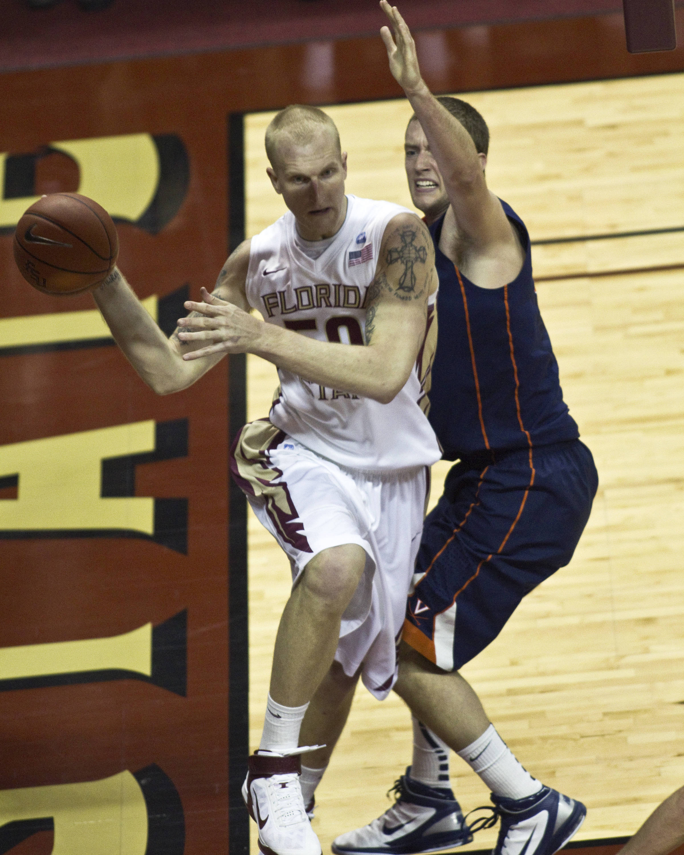FSU vs Virginia- 02//12/11 - Jon Kreft (50)