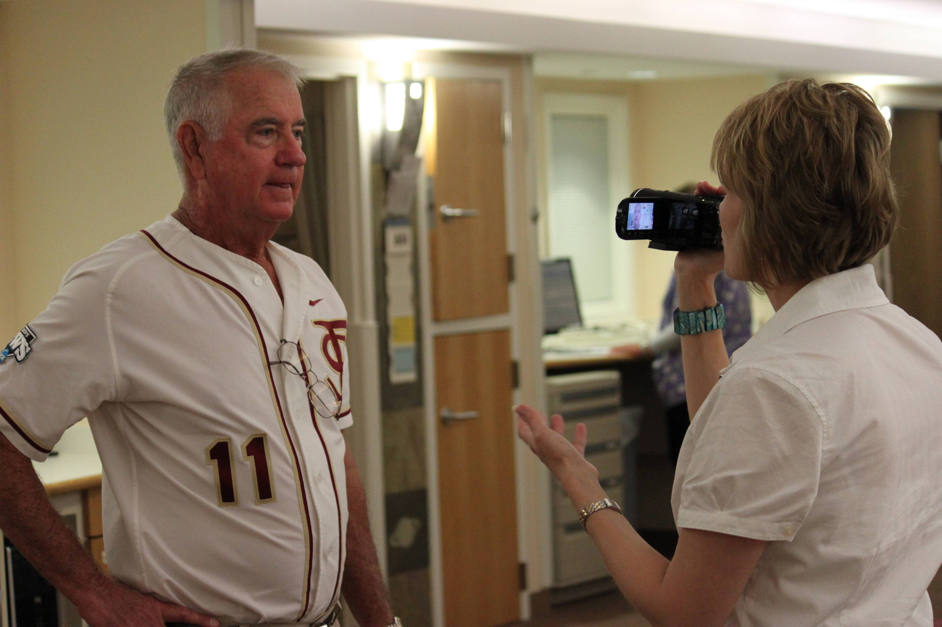 Head coach Mike Martin