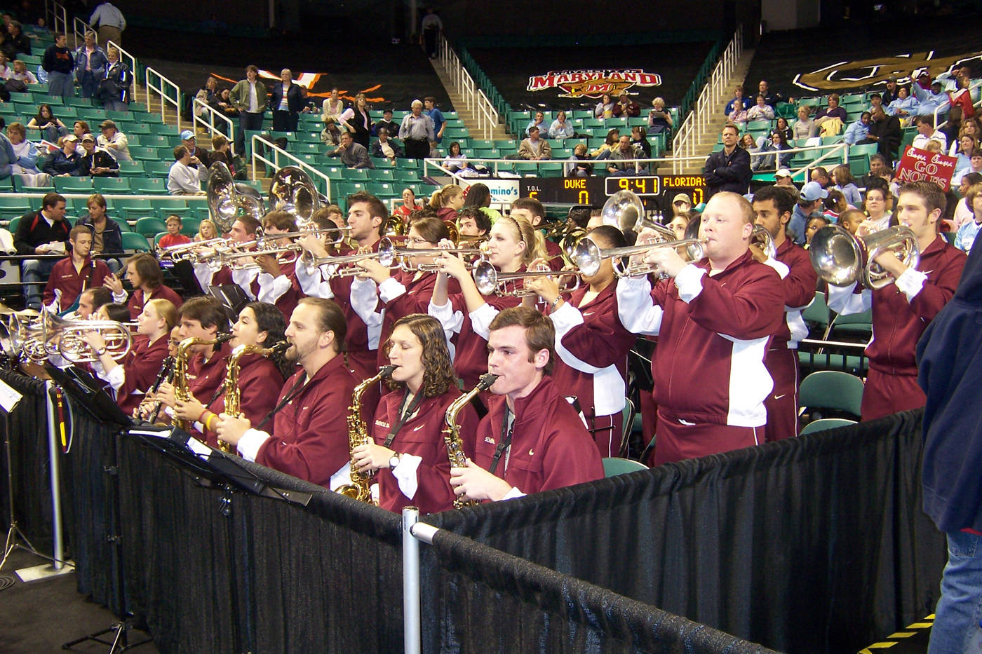 Seminole sound @ the ACC tournament