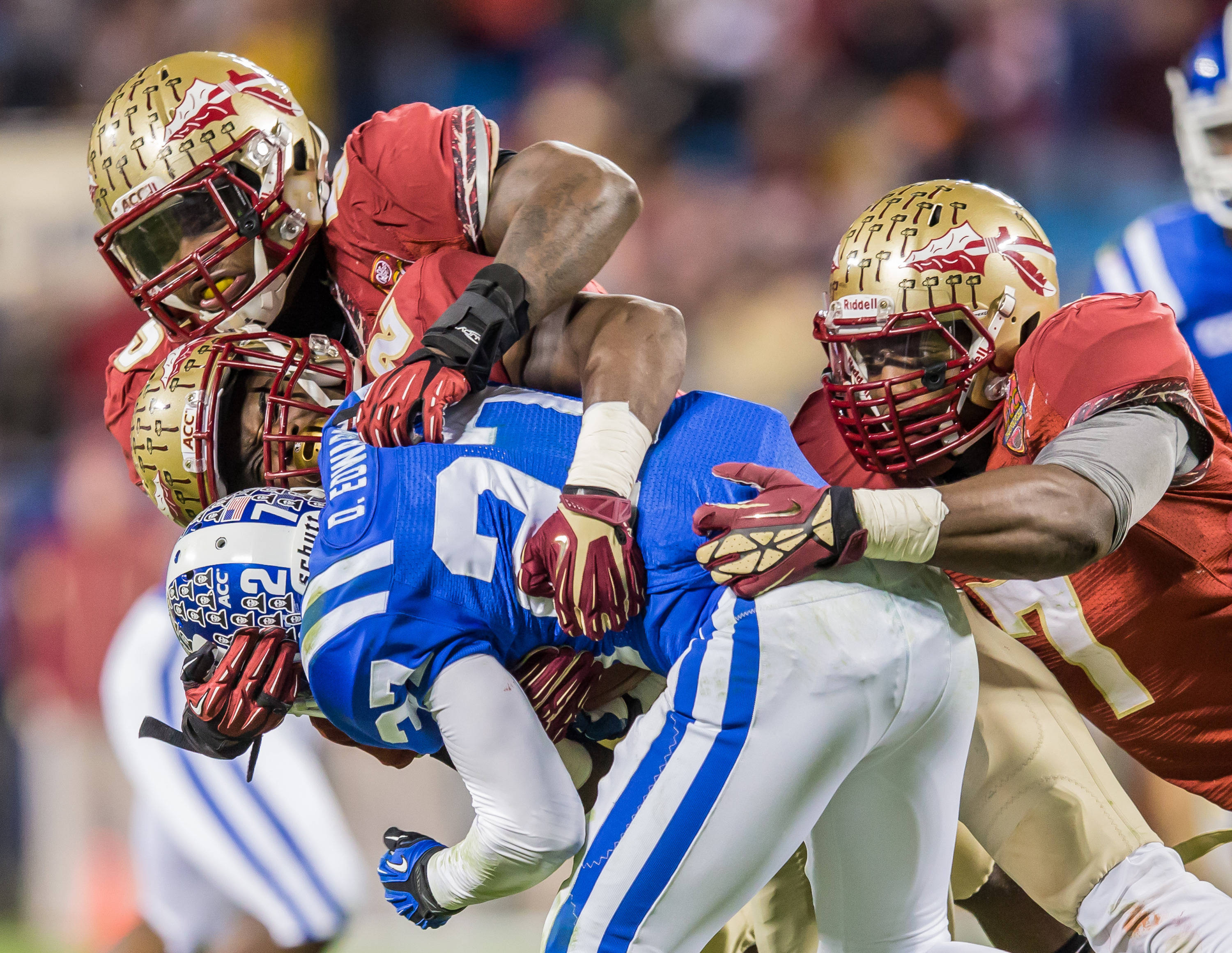 The FSU defense turned in another dominating performance.