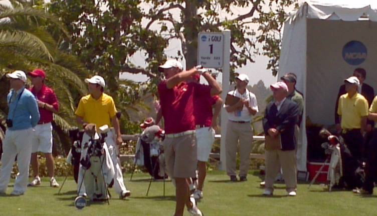 2012 NCAA Men's Golf Championship -- Brooks Koepka