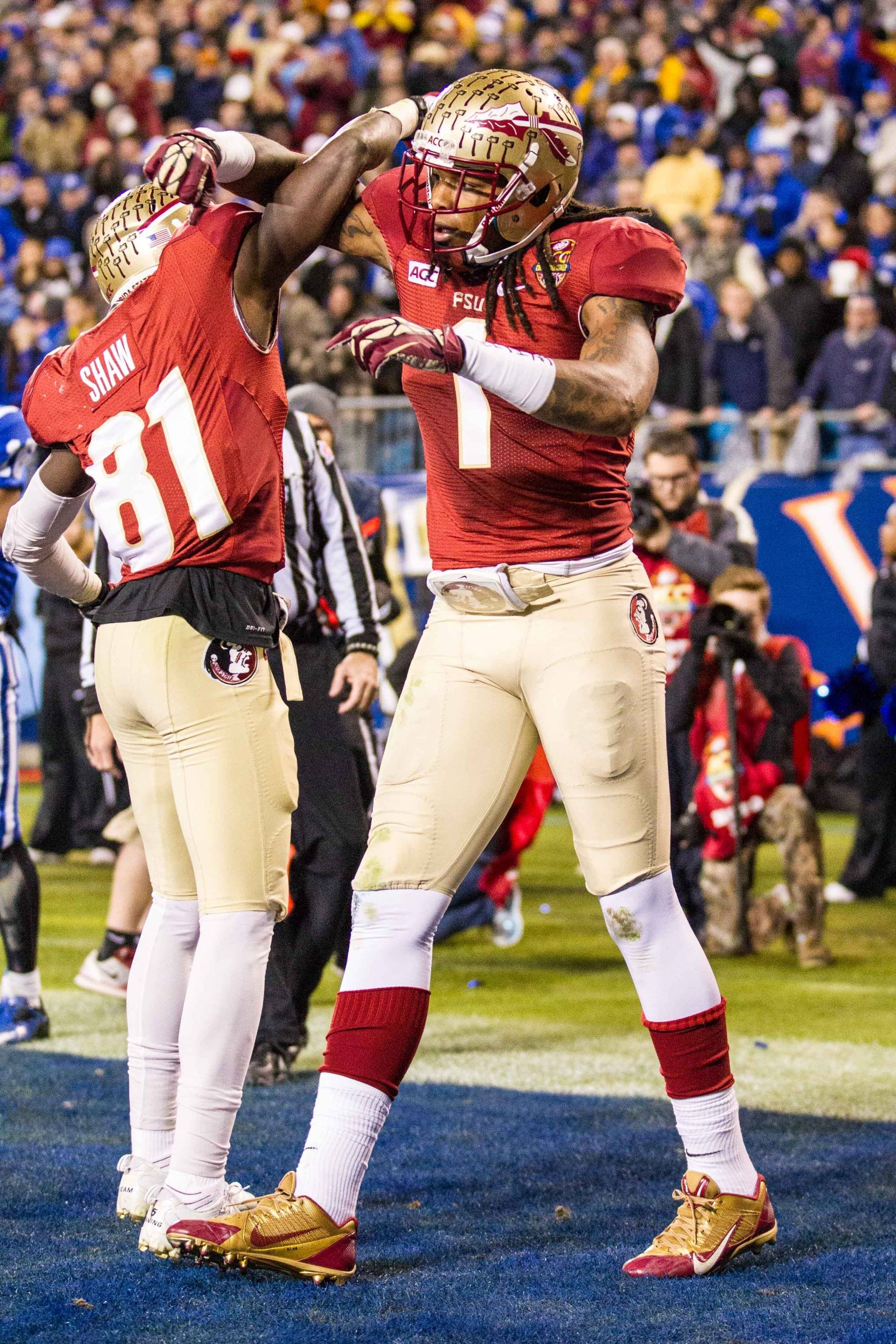 Kelvin Benjamin and Kenny Shaw