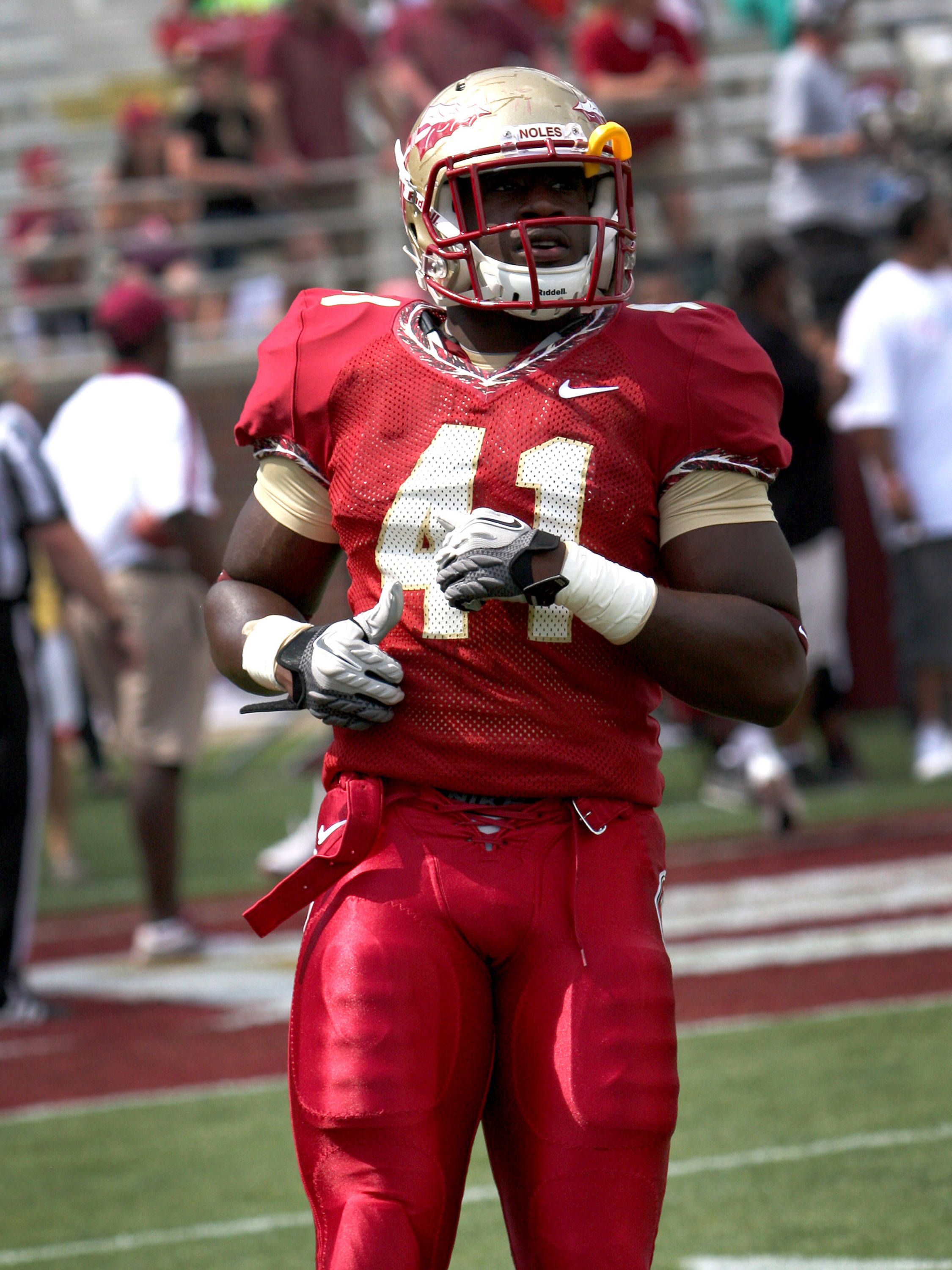 Chad Abram, FSU spring football  04/14/2012