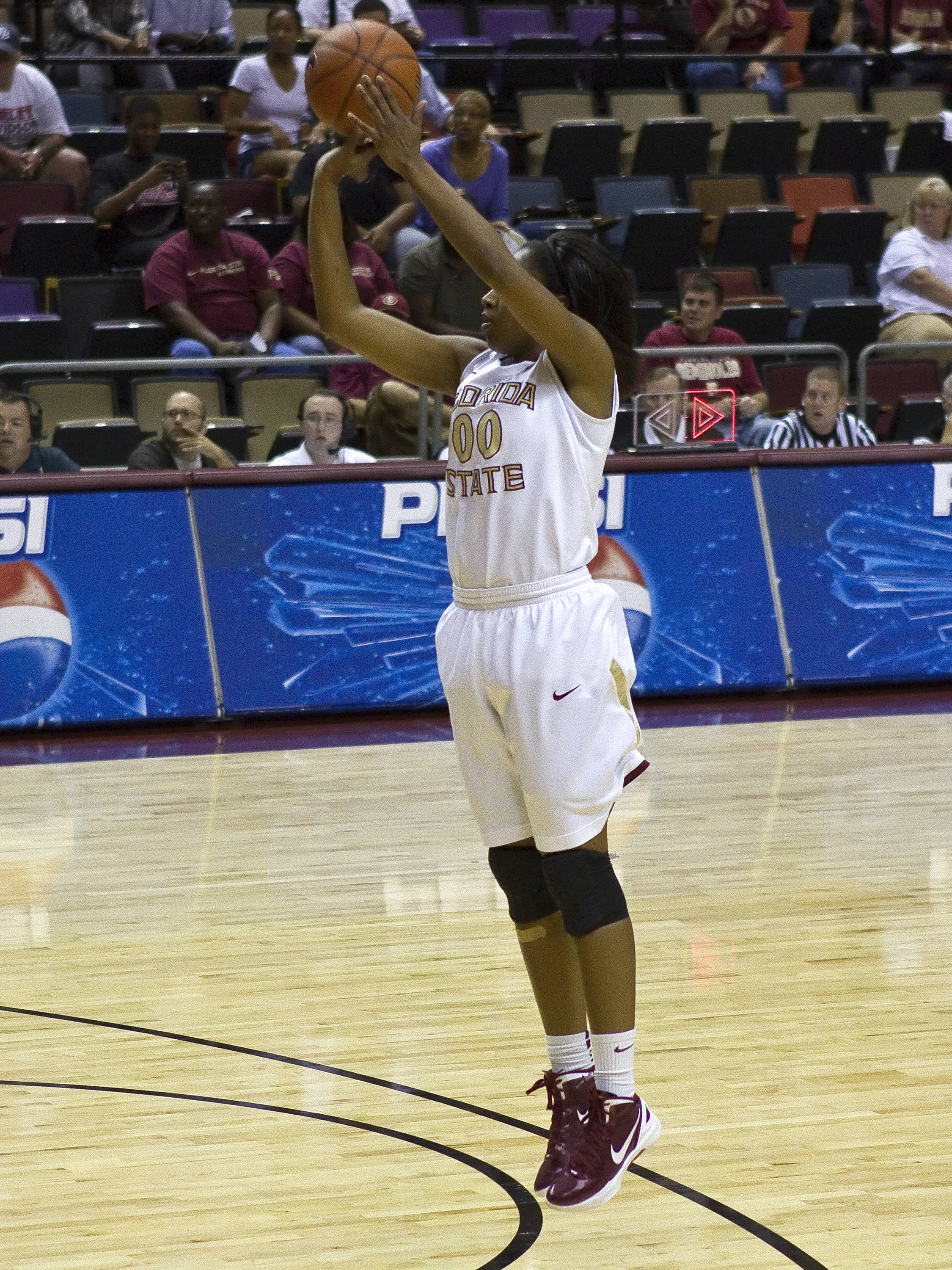 Chasity Clayton (00), FSU vs Nebraska, 11/27/2011
