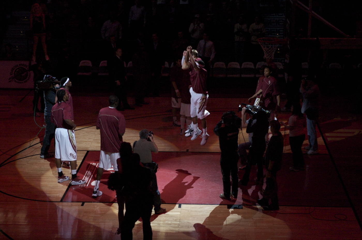 Pre-game introductions