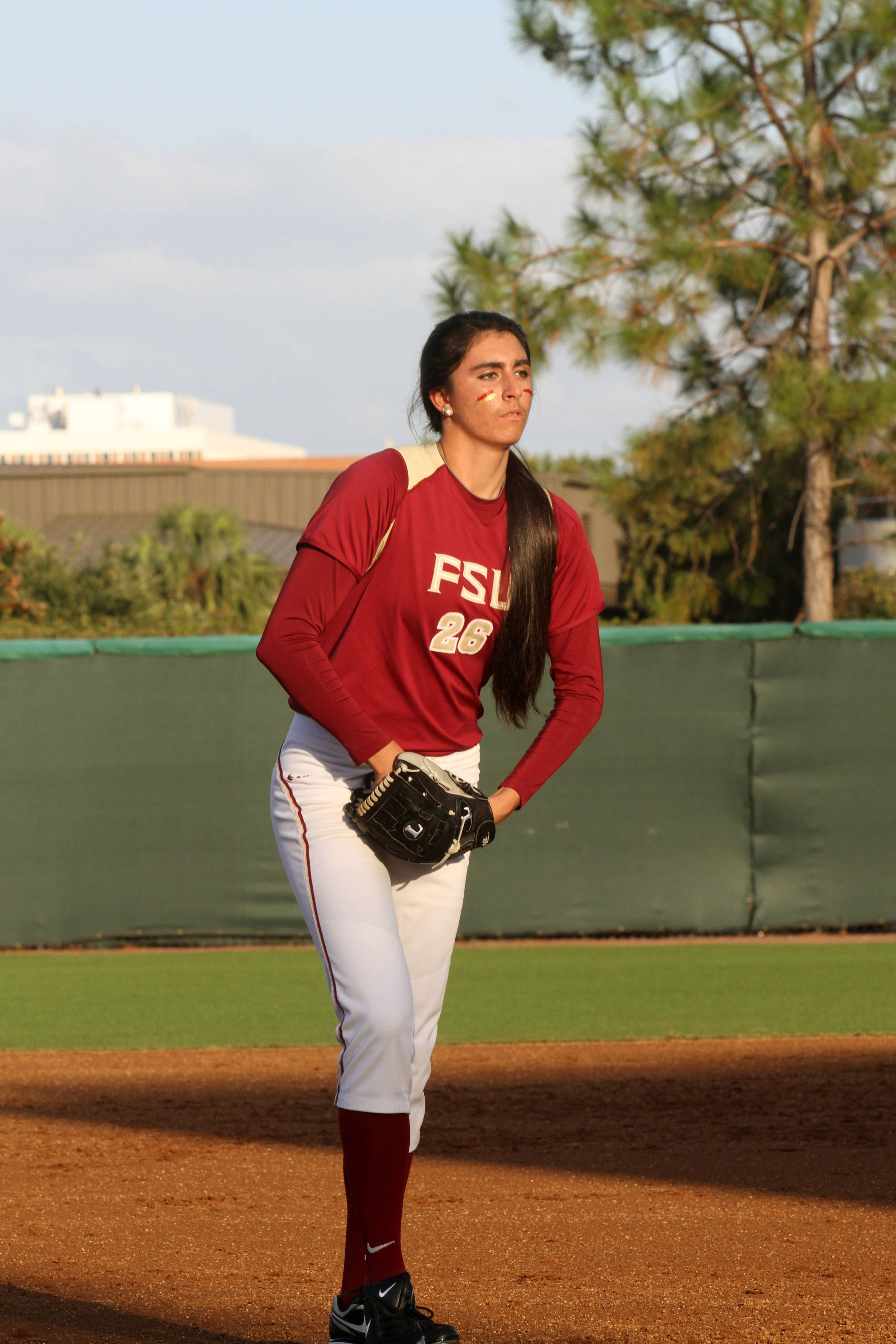 2012 FSU Softball Team Jessica Nori (26)
