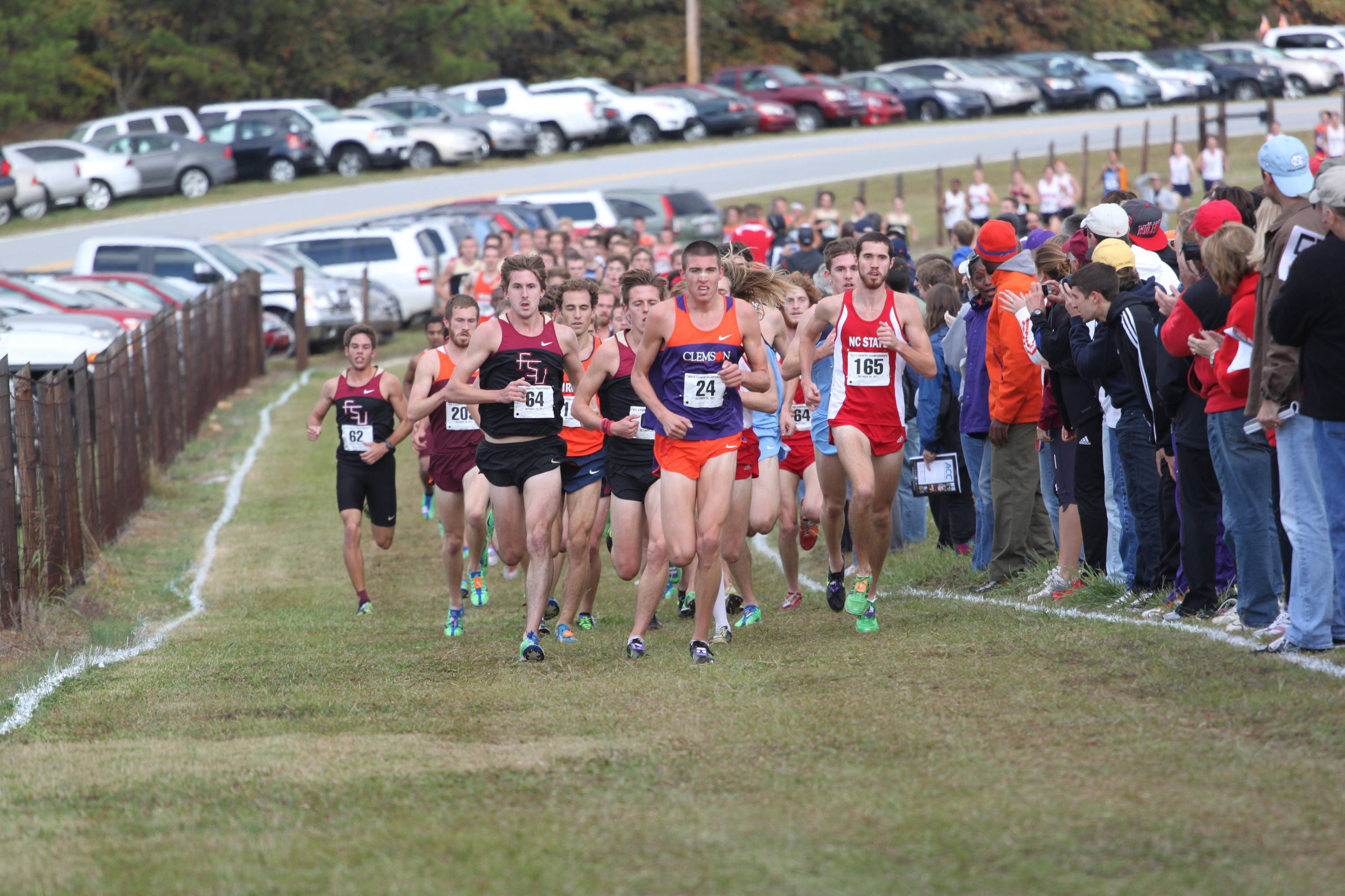 Mike Fout and the Seminoles are well-positioned heading into the two-mile mark at the ACC XC championships
