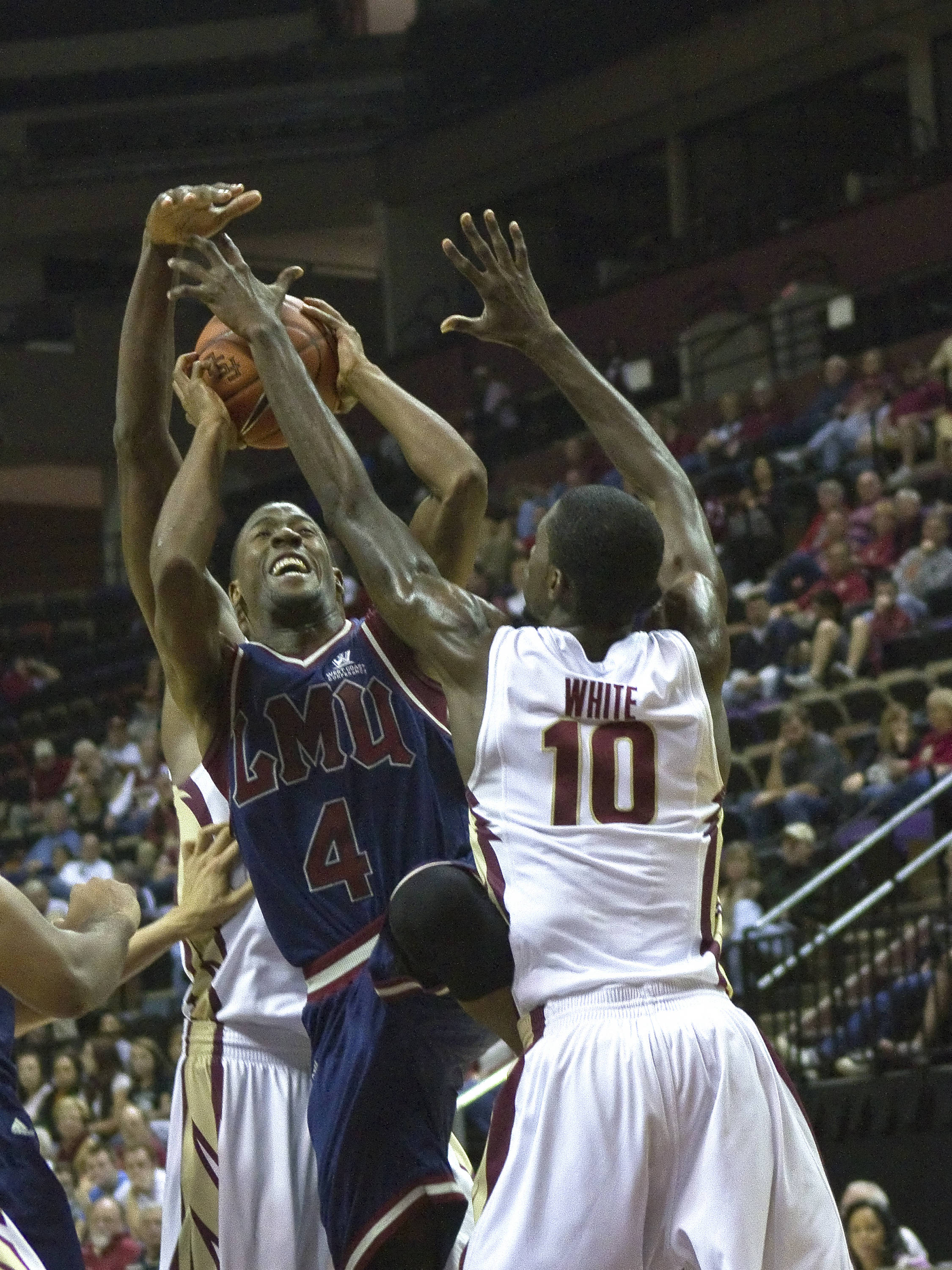 Okaro White (10), FSU vs Loyola-Mary., 12/18/2011