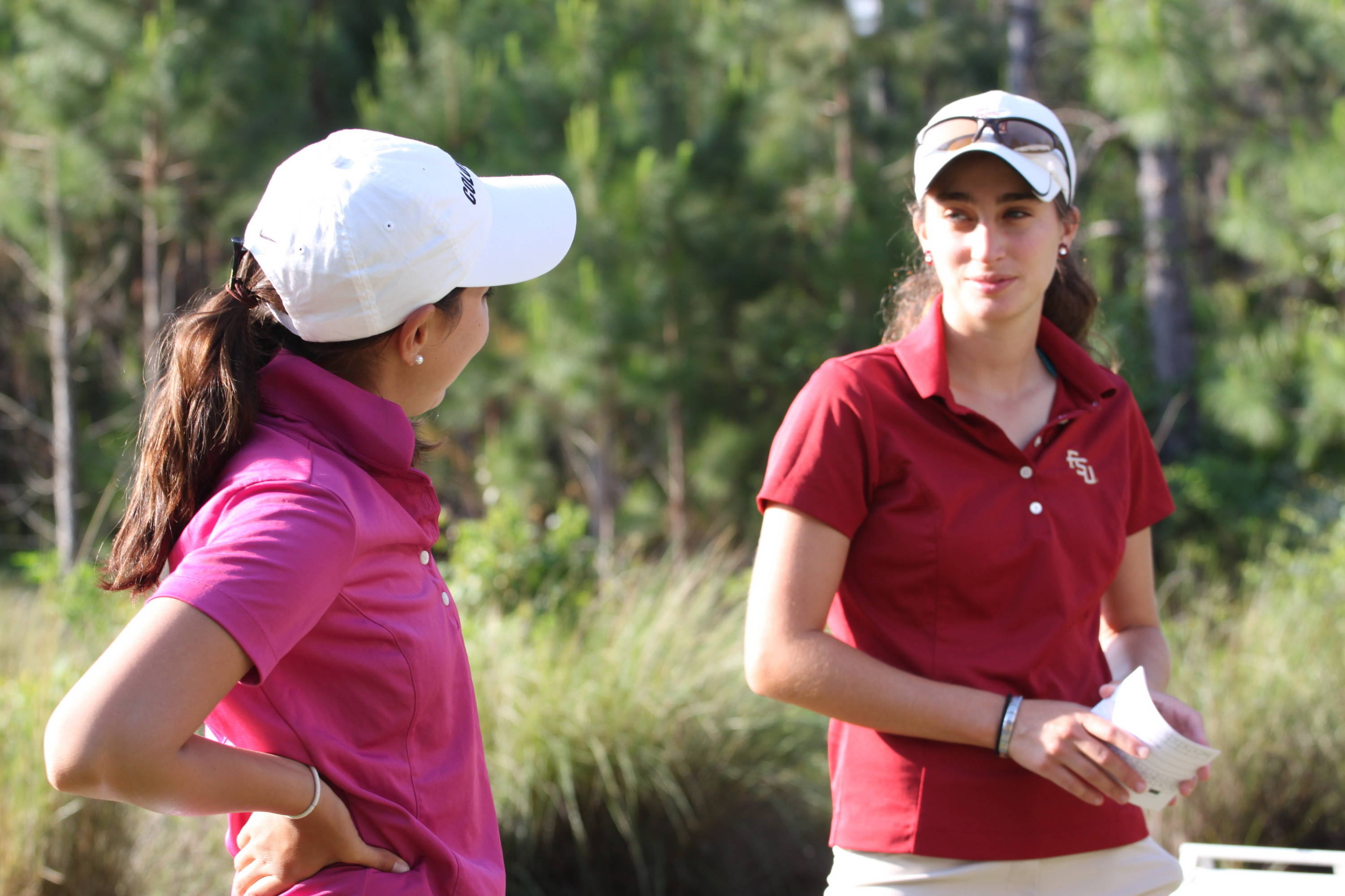 2011 NCAA Golf -- Florida State is playing in the first wave of Thursday's morning round