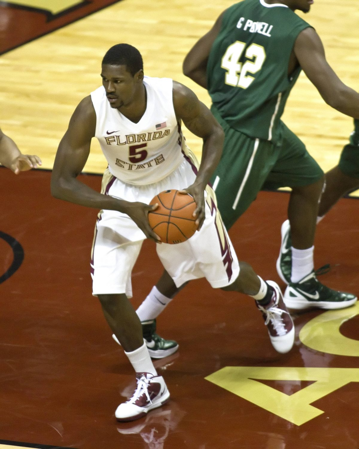 Bernard James (5), FSU vs Jacksonville 11/11/2011