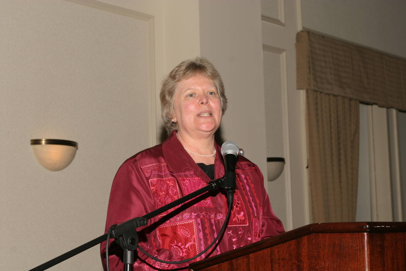Dr. Karen Laughlin, Dean of Undergraduate Studies.