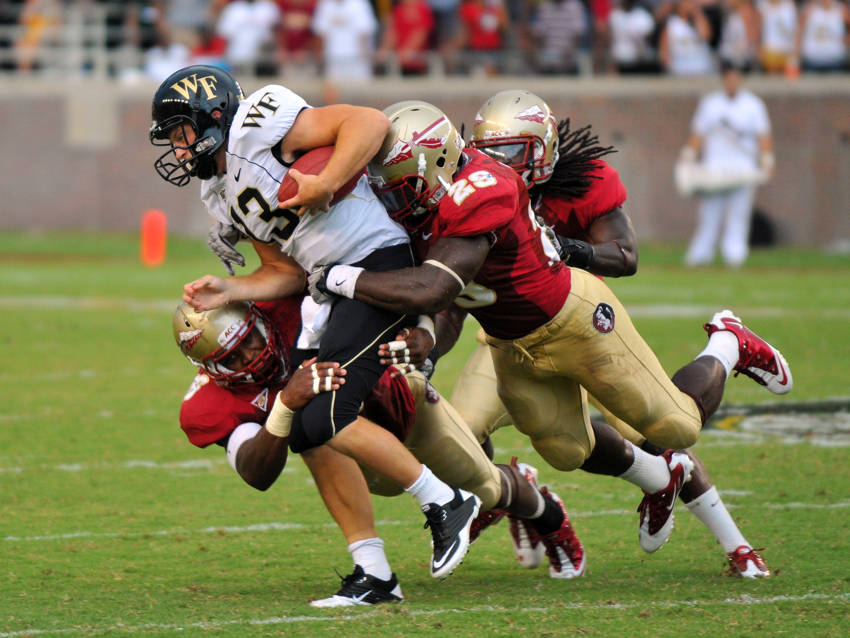 Kendall Smith vs. Wake Forest