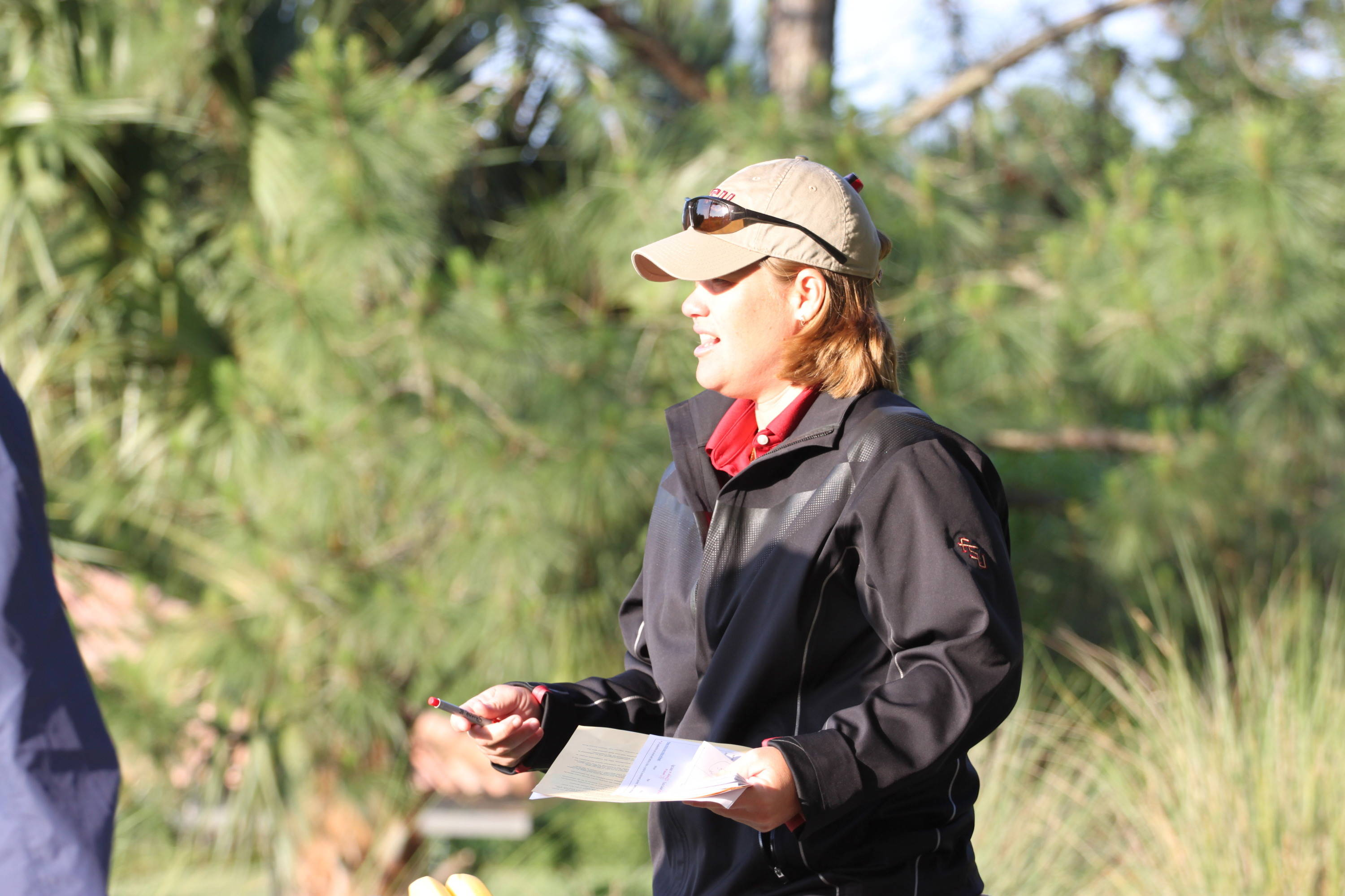 2011 NCAA Golf -- Head Coach Amy Bond is in the NCAA championship for the first time as a head coach.