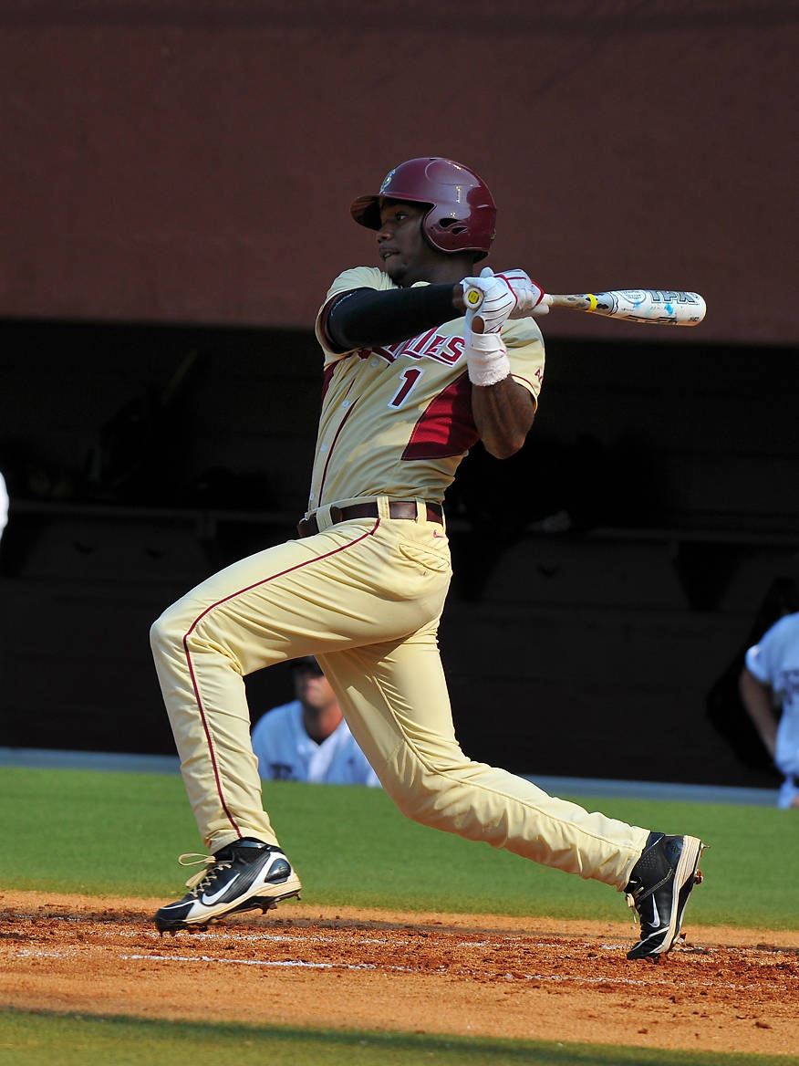 Taiwan Easterling contributed a pair of hits and two RBI to FSU's onslaught.