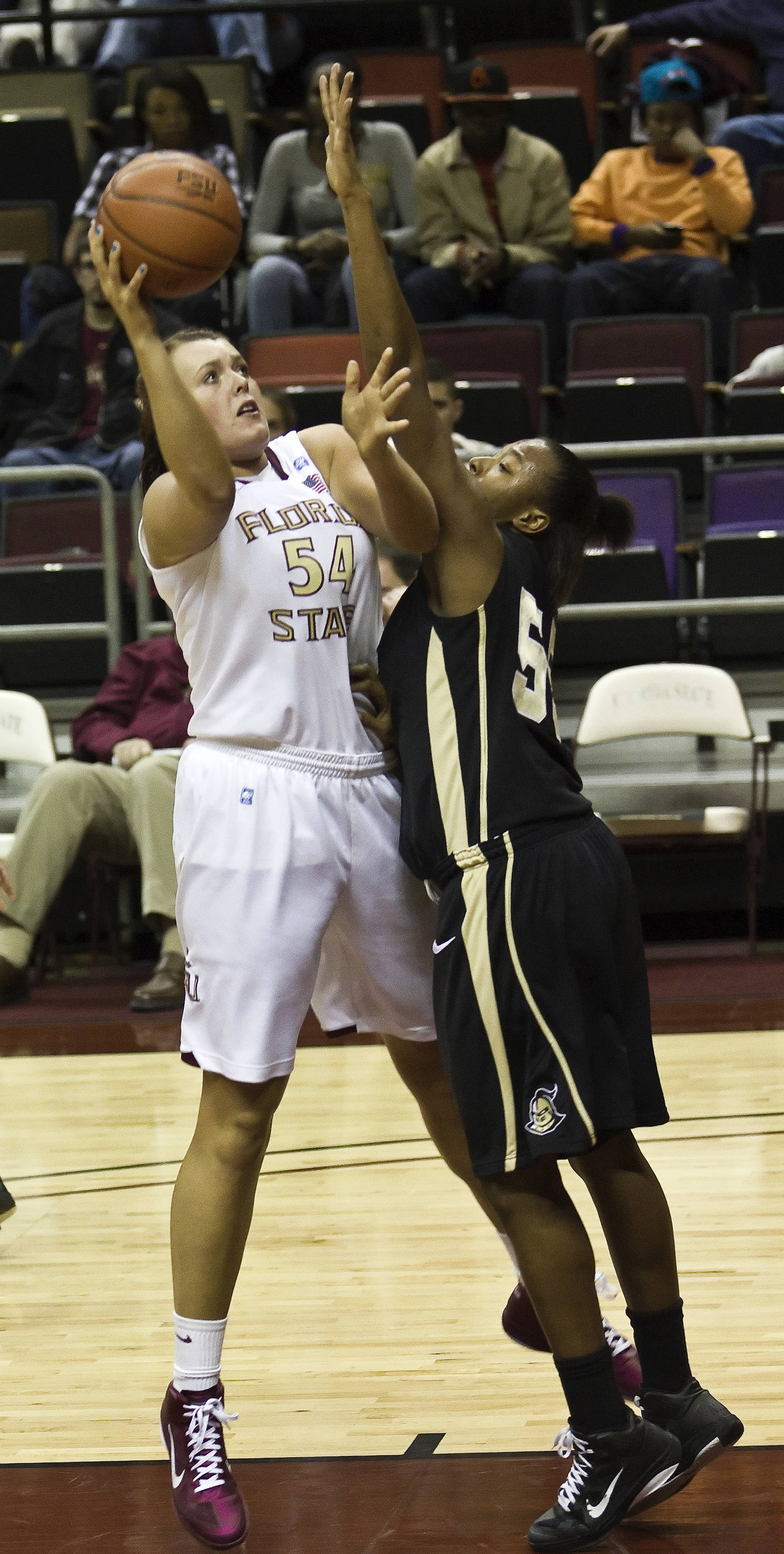 FSU vs UCF - 12/15/10 - Cierra Bravard (54)#$%^Photo by Steve Musco