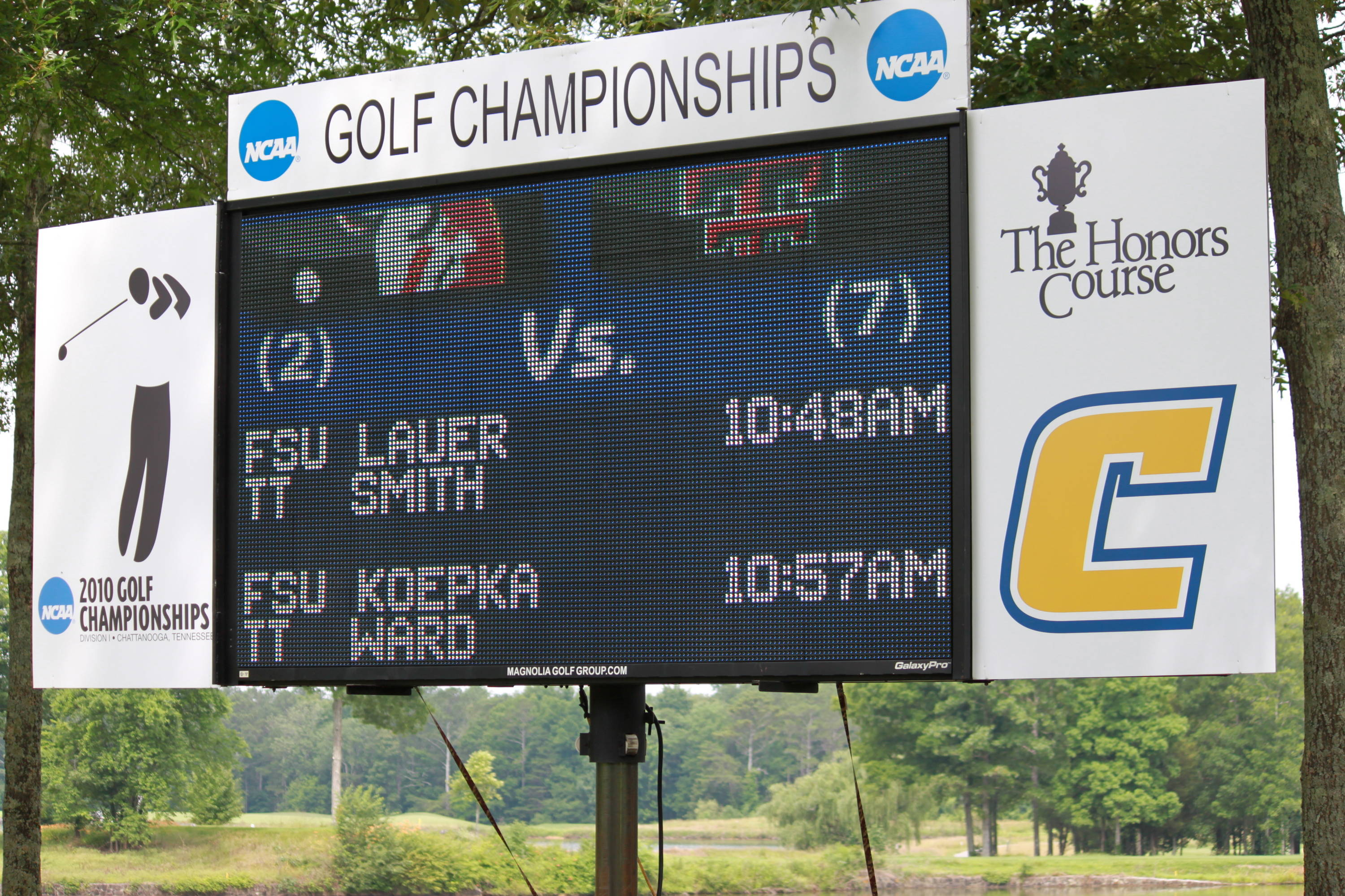 NCAA Men's Golf 2010 Day 4