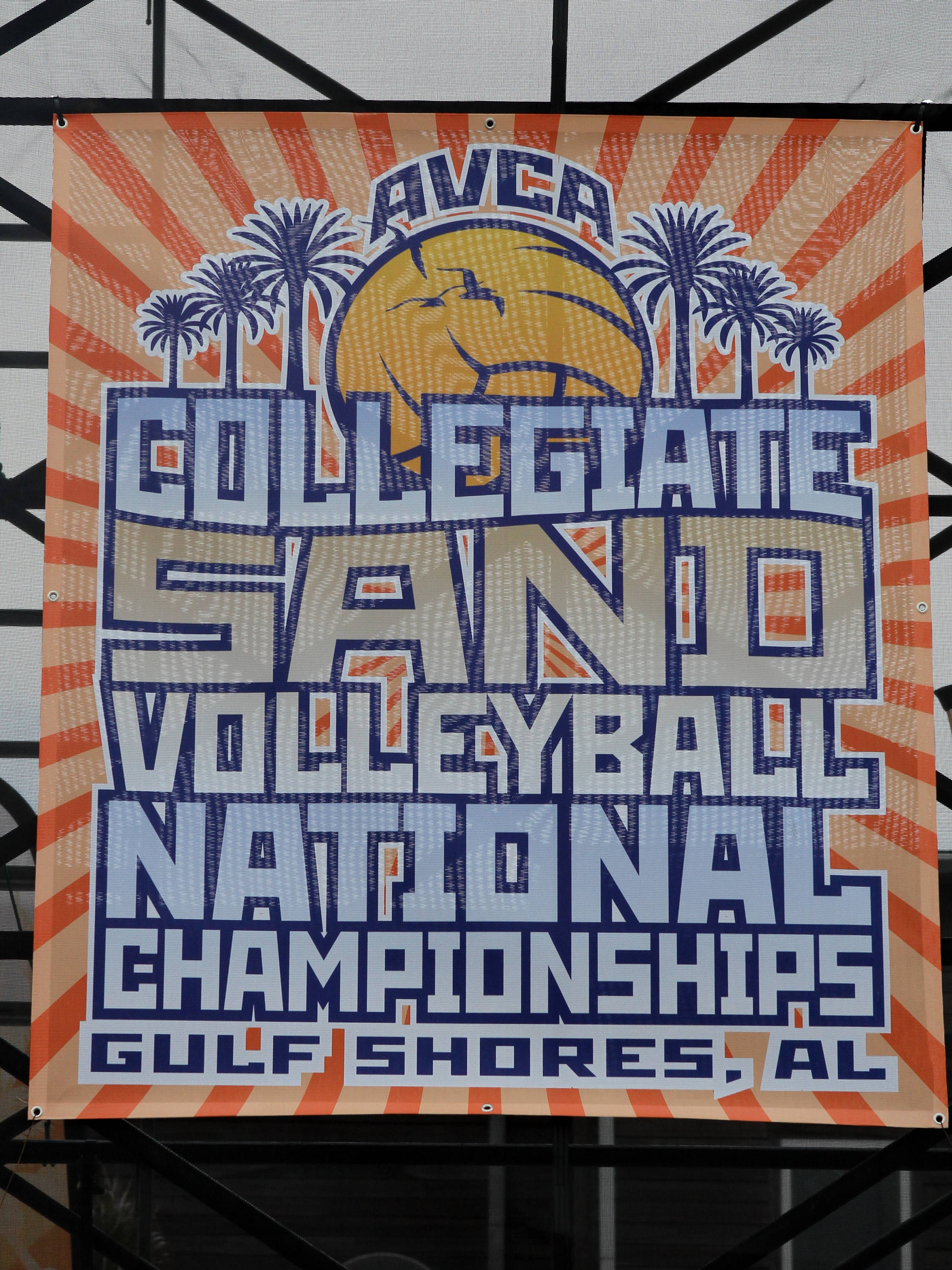 AVCA Collegiate Sand Volleyball National Championships,  Gulf Shores, Alabama,05/03/13 . (Photo by Steve Musco)