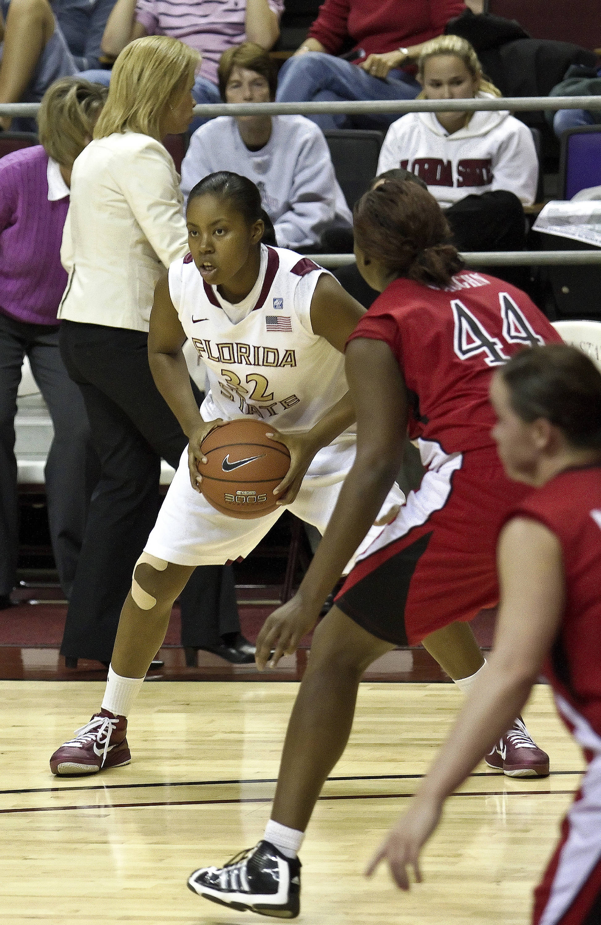FSU vs Jacksonville State - 12/12/10 - Lauren Coleman (32)#$%^Photo by Steve Musco