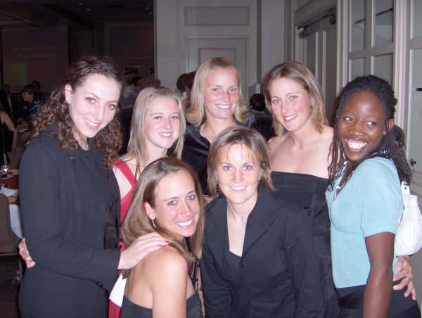 Tennis held there 5th Annual â?oeFirst-Serveâ?? Banquet on Friday Jan. 26 with 500 people in attendance