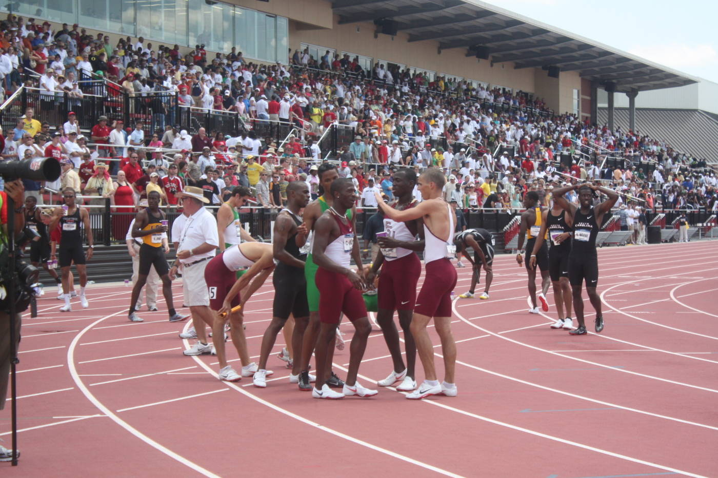 FSU's national champion 4x400m relay.