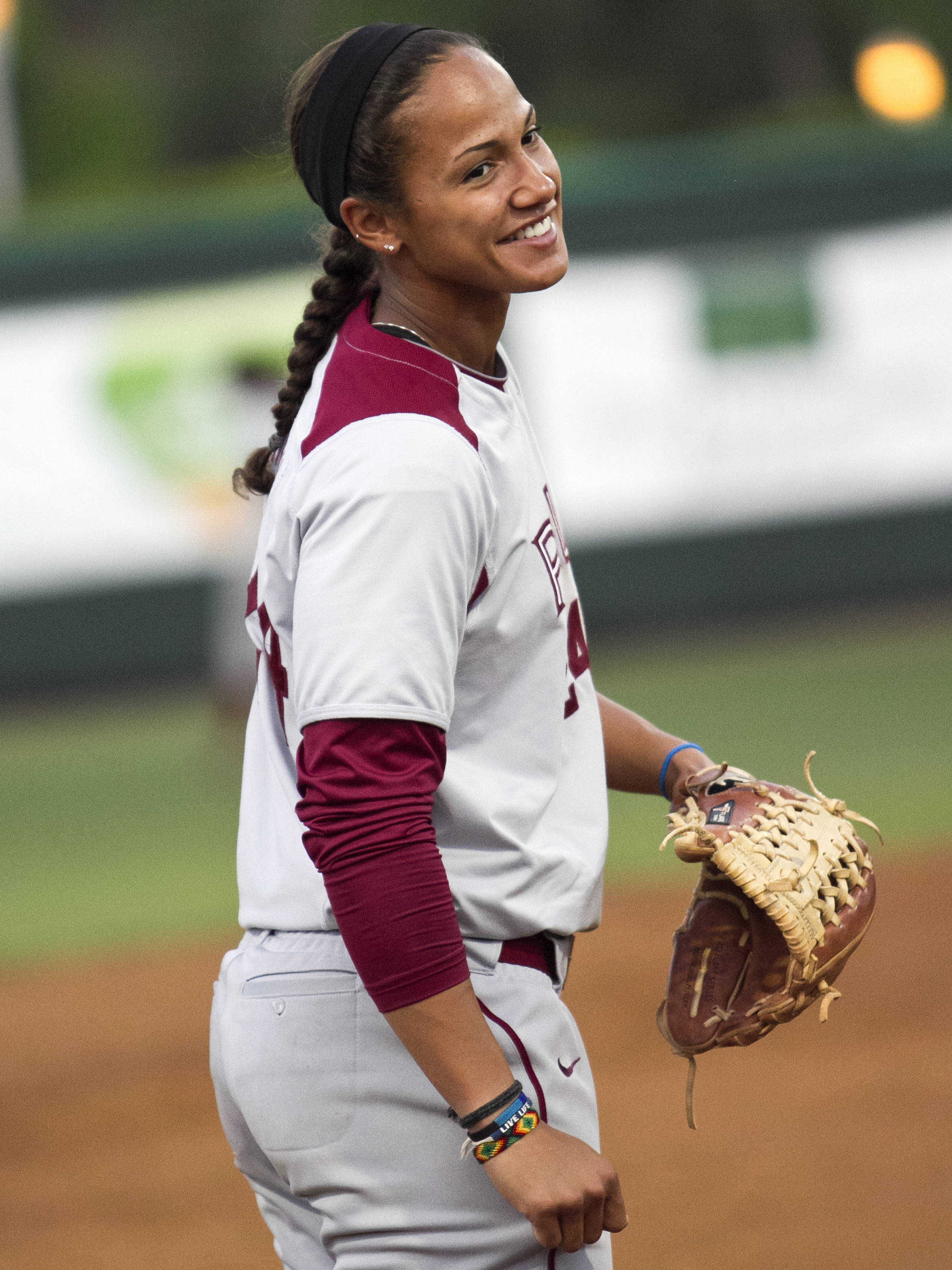 Briana Hamilton, FSU Softball vs FGCU 2,  03/29/2012