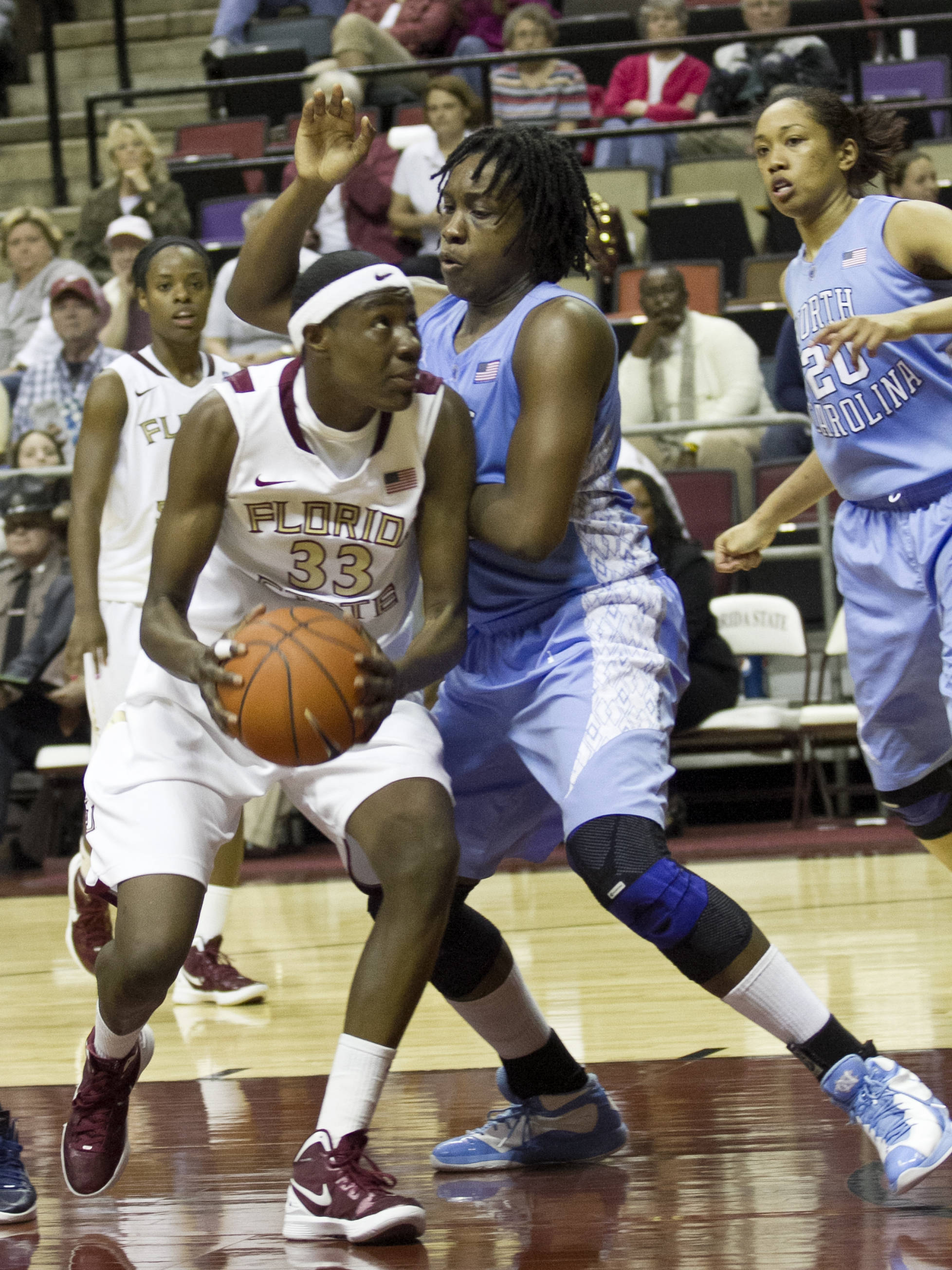 Natasha Howard (33), FSU vs NC,  02/15/2012