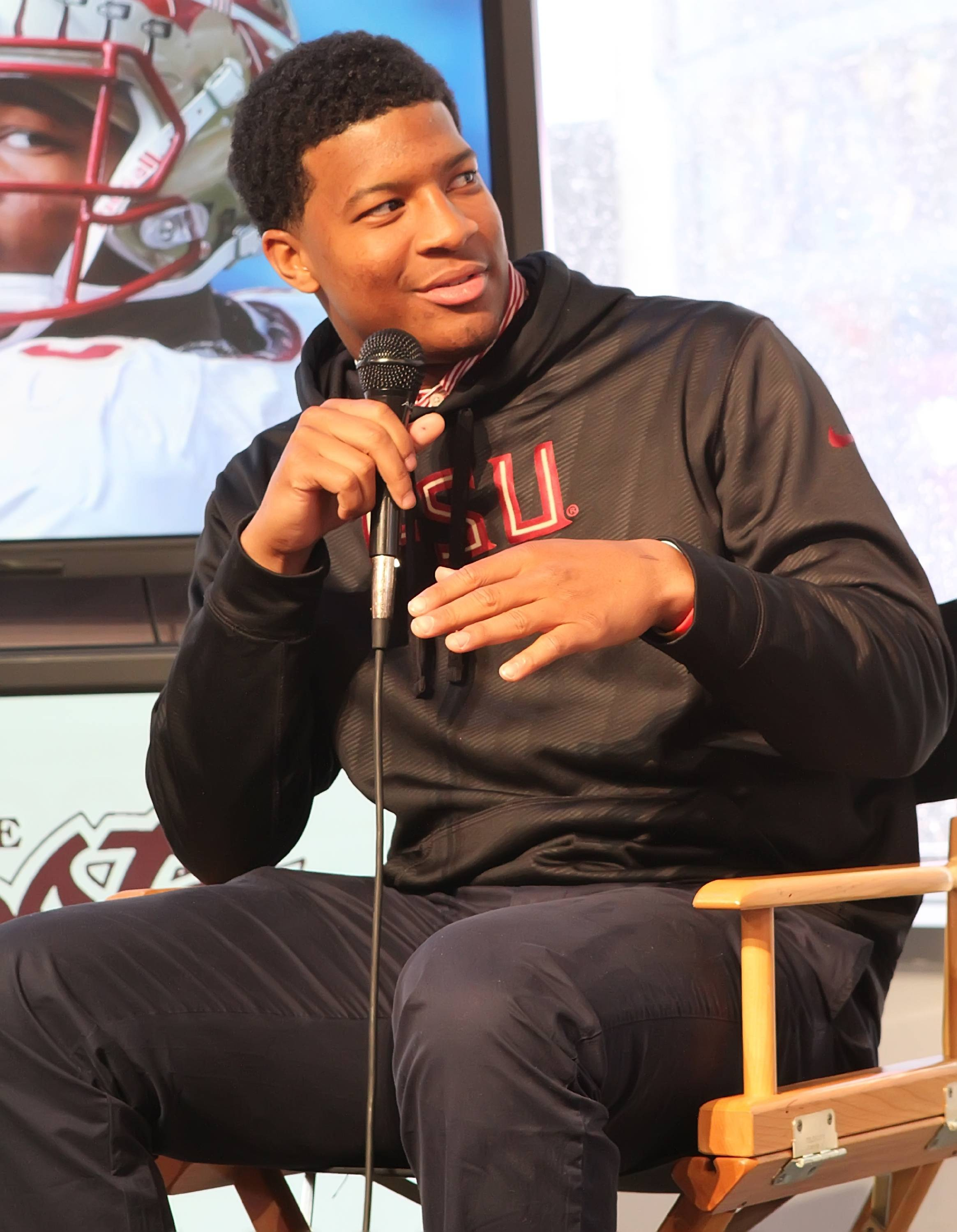 Jameis Winston (Photo by Damon Herota)