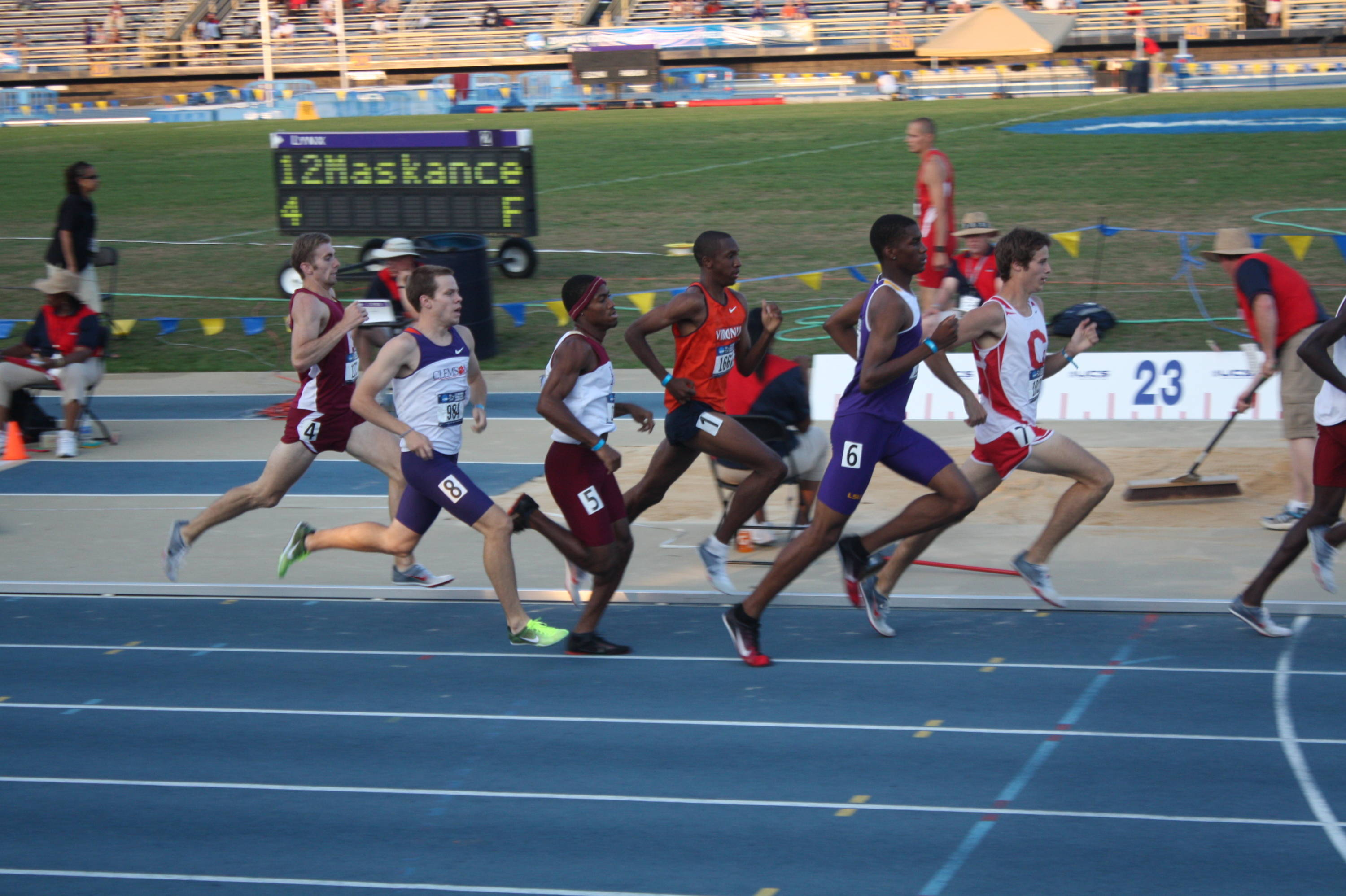 The first day of the 2010 NCAA East Regional.