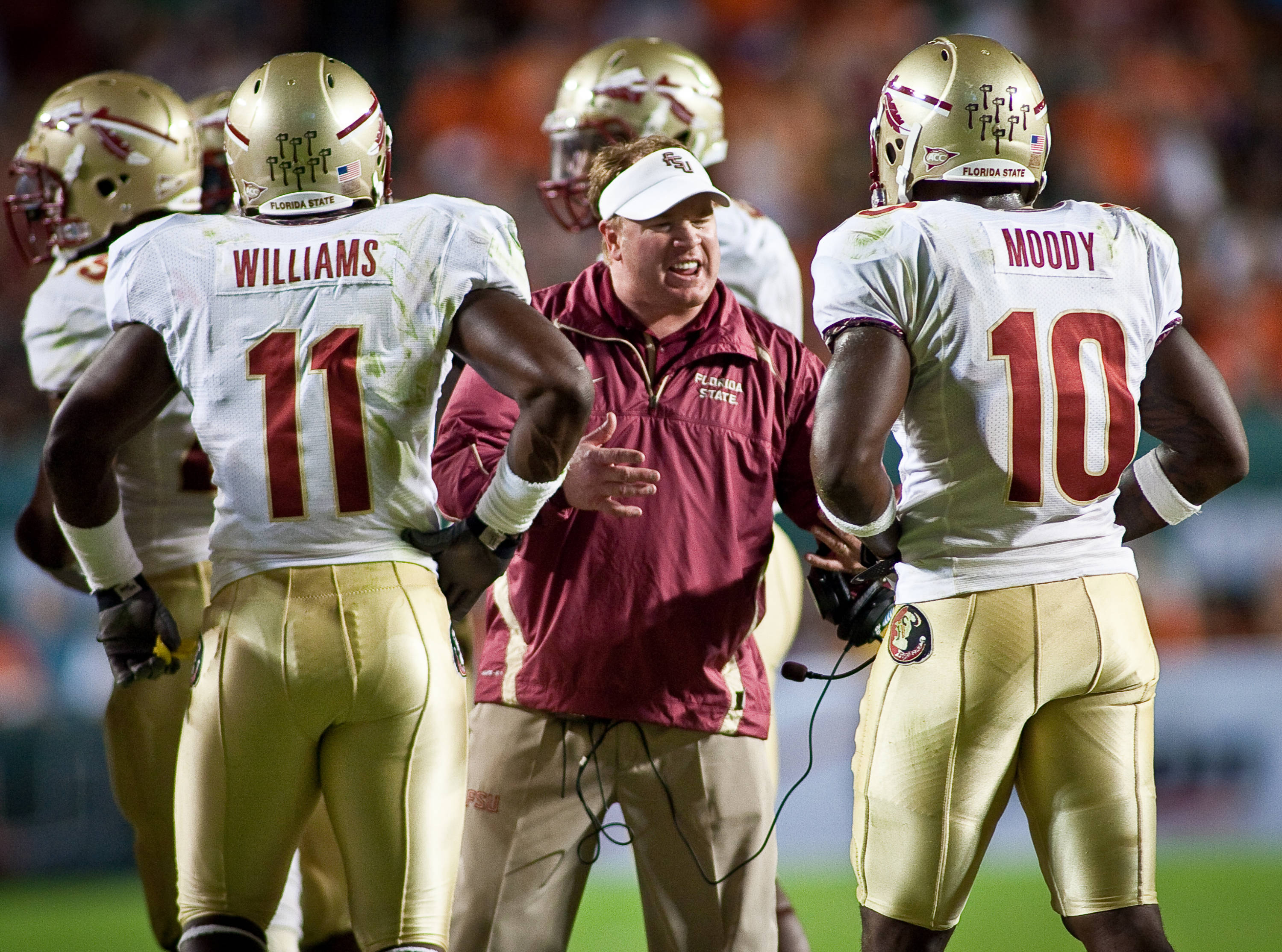 Mark Stoops and his Seminole defense