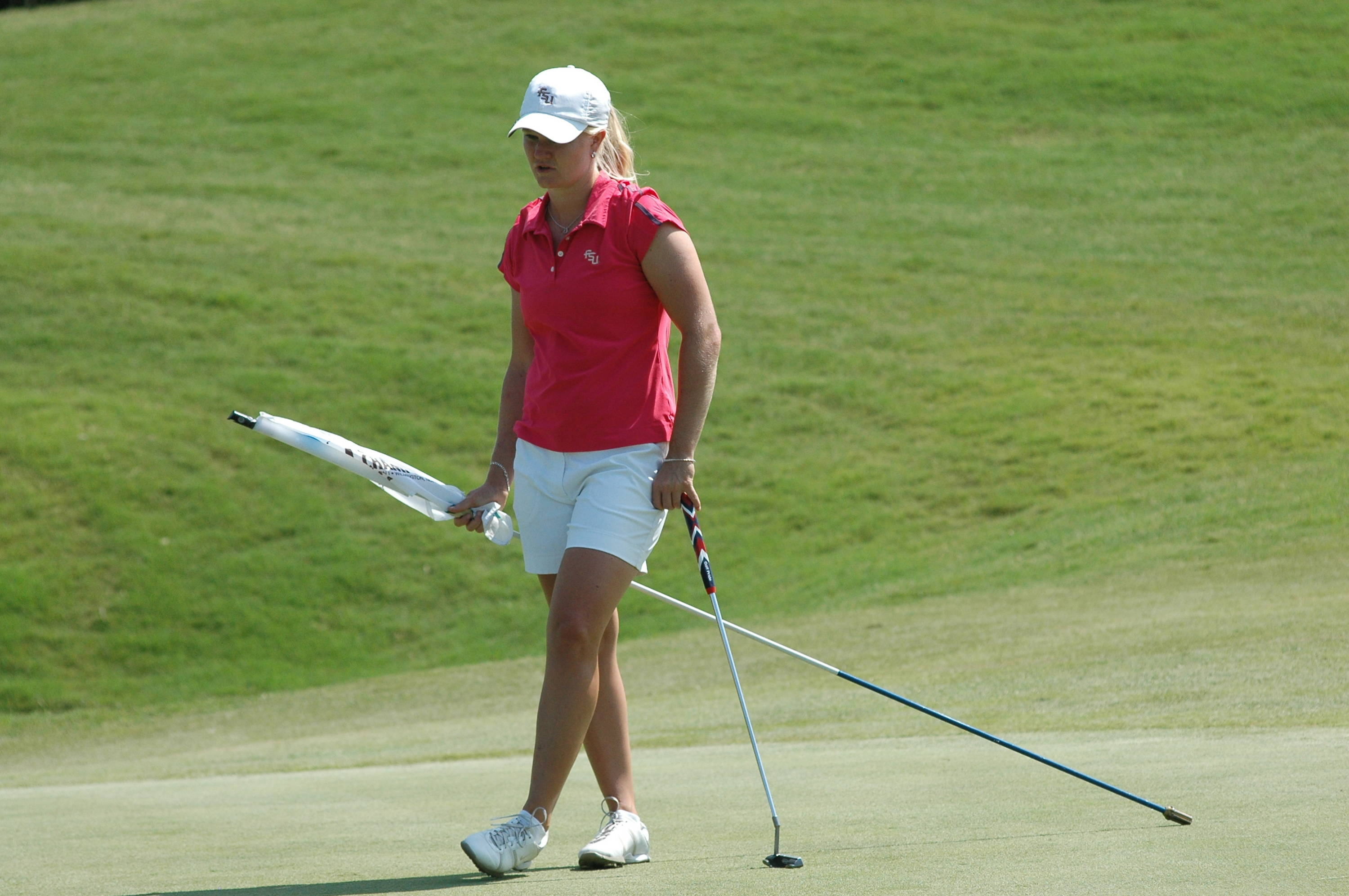 Hannah Thomson - NCAA Women's Golf 2010 Day 4