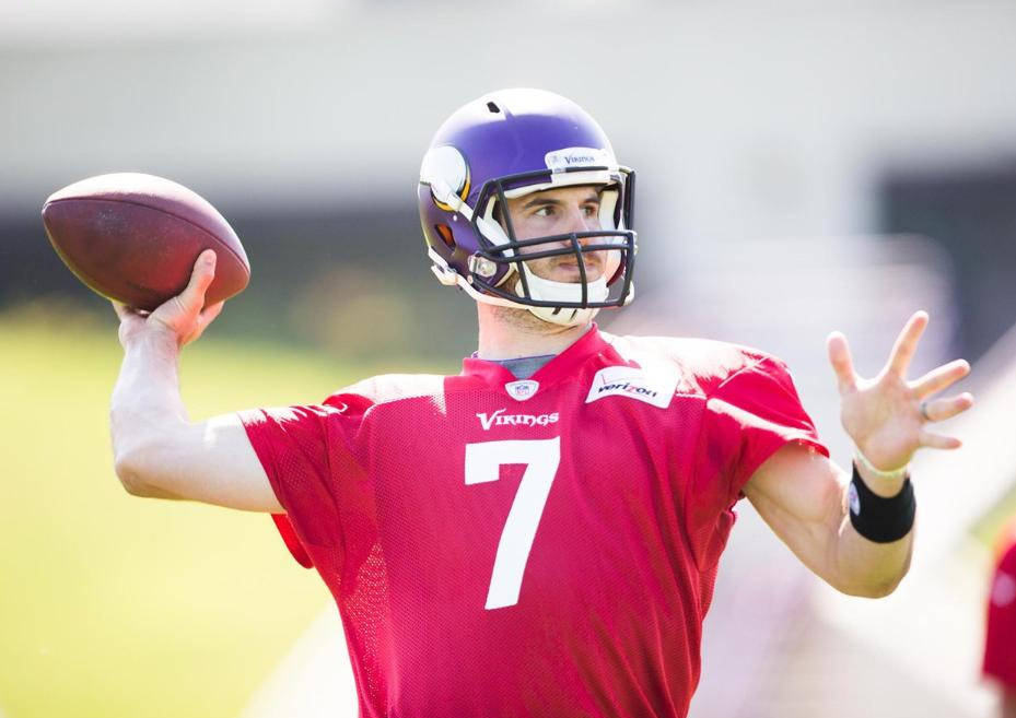 Christian Ponder, courtesy of Vikings.com