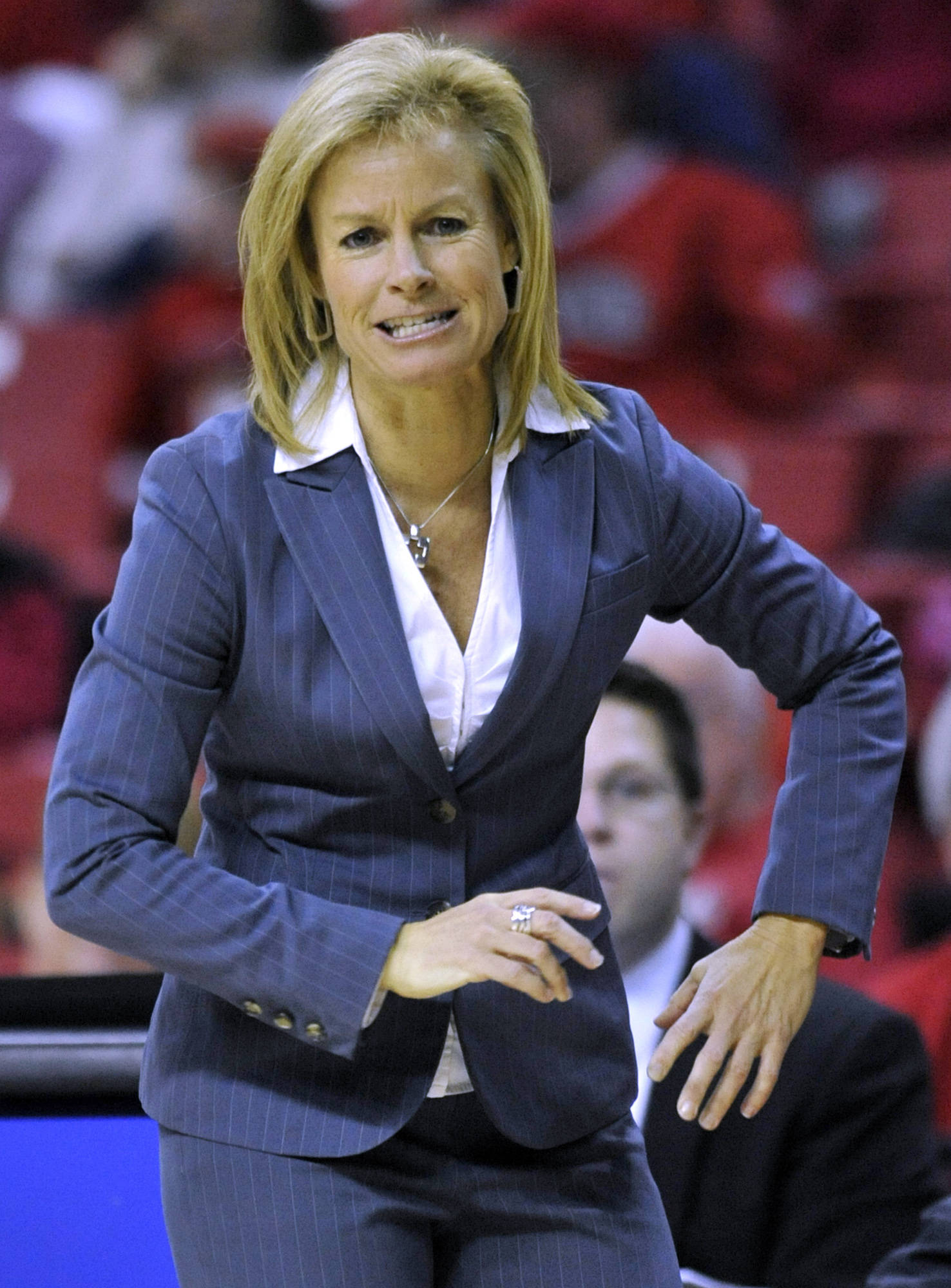 Florida State coach Sue Semrau.