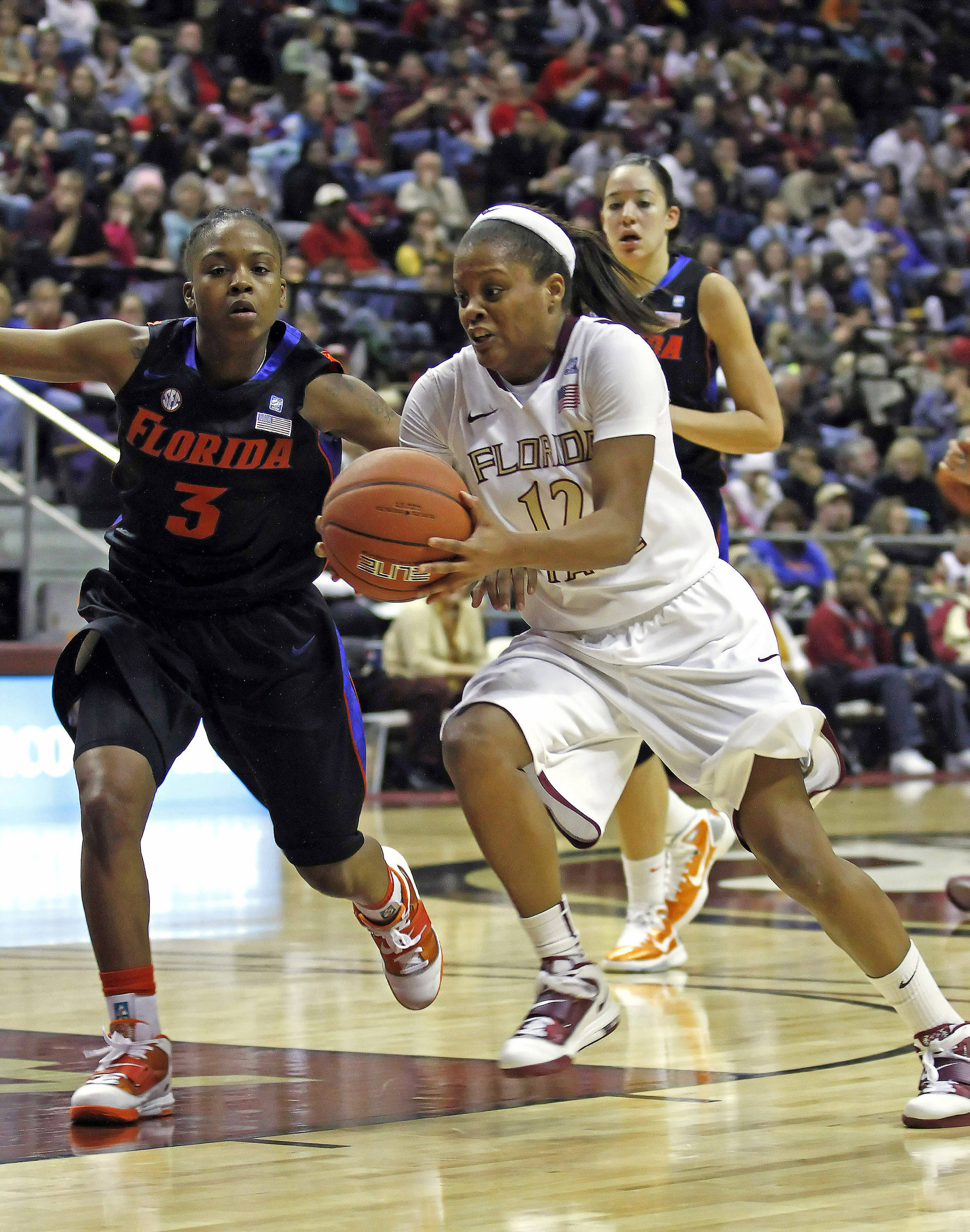 FSU vs Florida 12/28/10 - Courtney Ward (12)#$%^Photo by Steve Musco