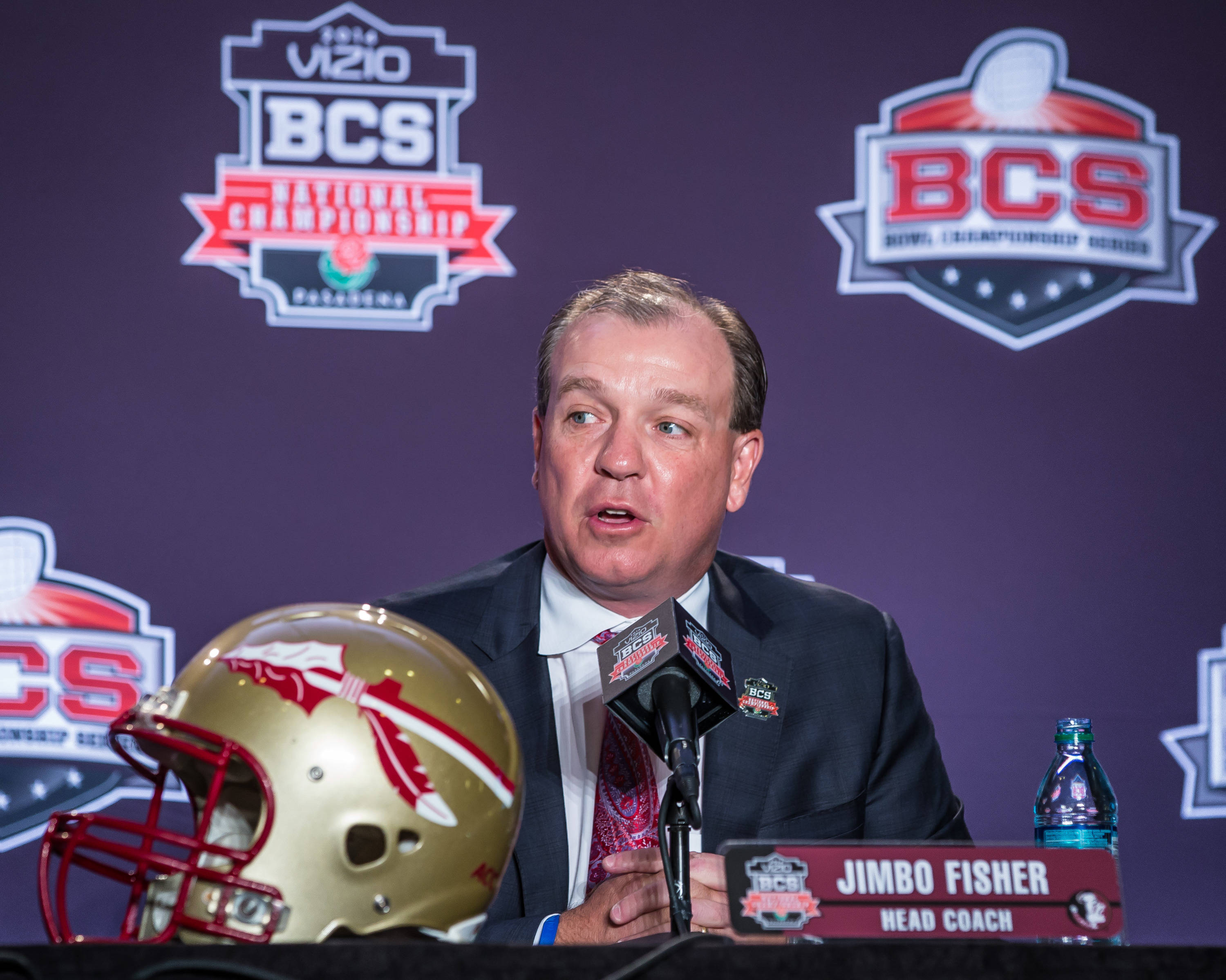 Jimbo Fisher's Sunday press conference.